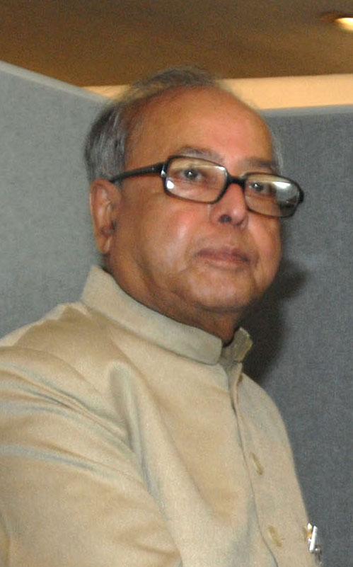 Pranab Mukherjee Größe