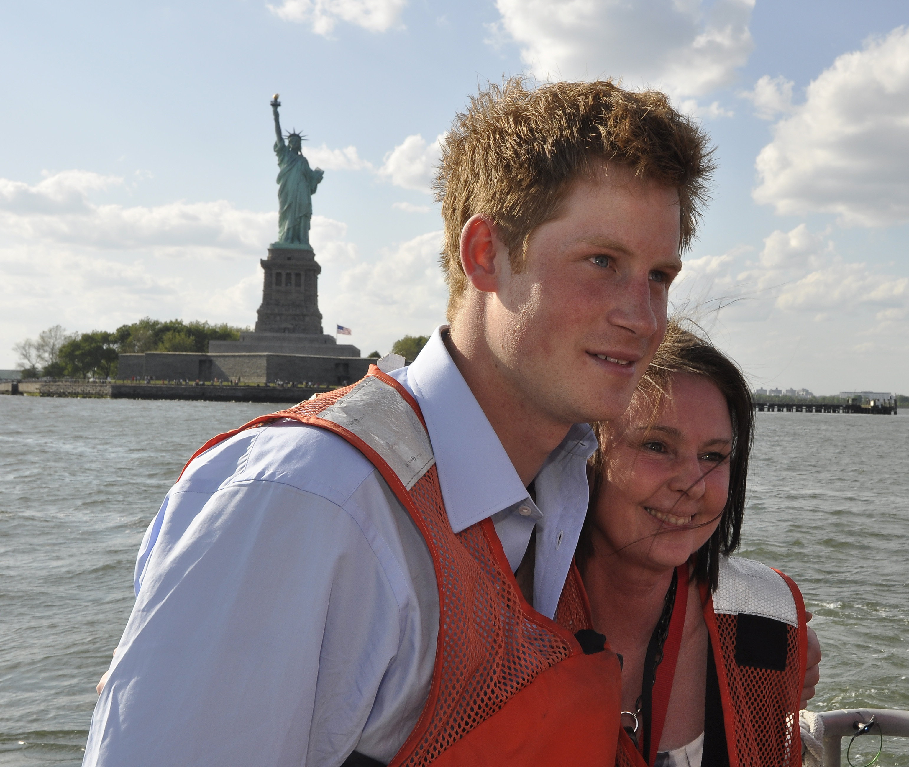 File:Prince Harry Tours New York Harbor With A Coast Guard