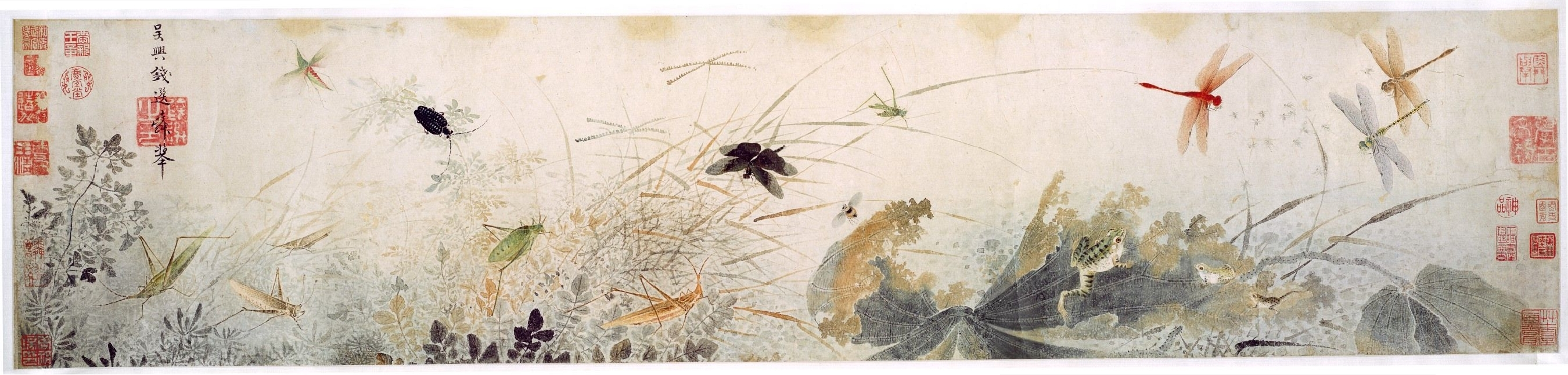 Bird and flower painting wikipedia qian xuan early autumng izmirmasajfo