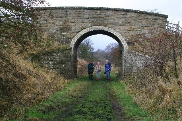 Railway Bridge near Romaldkirk - geograph.org.uk - 78218