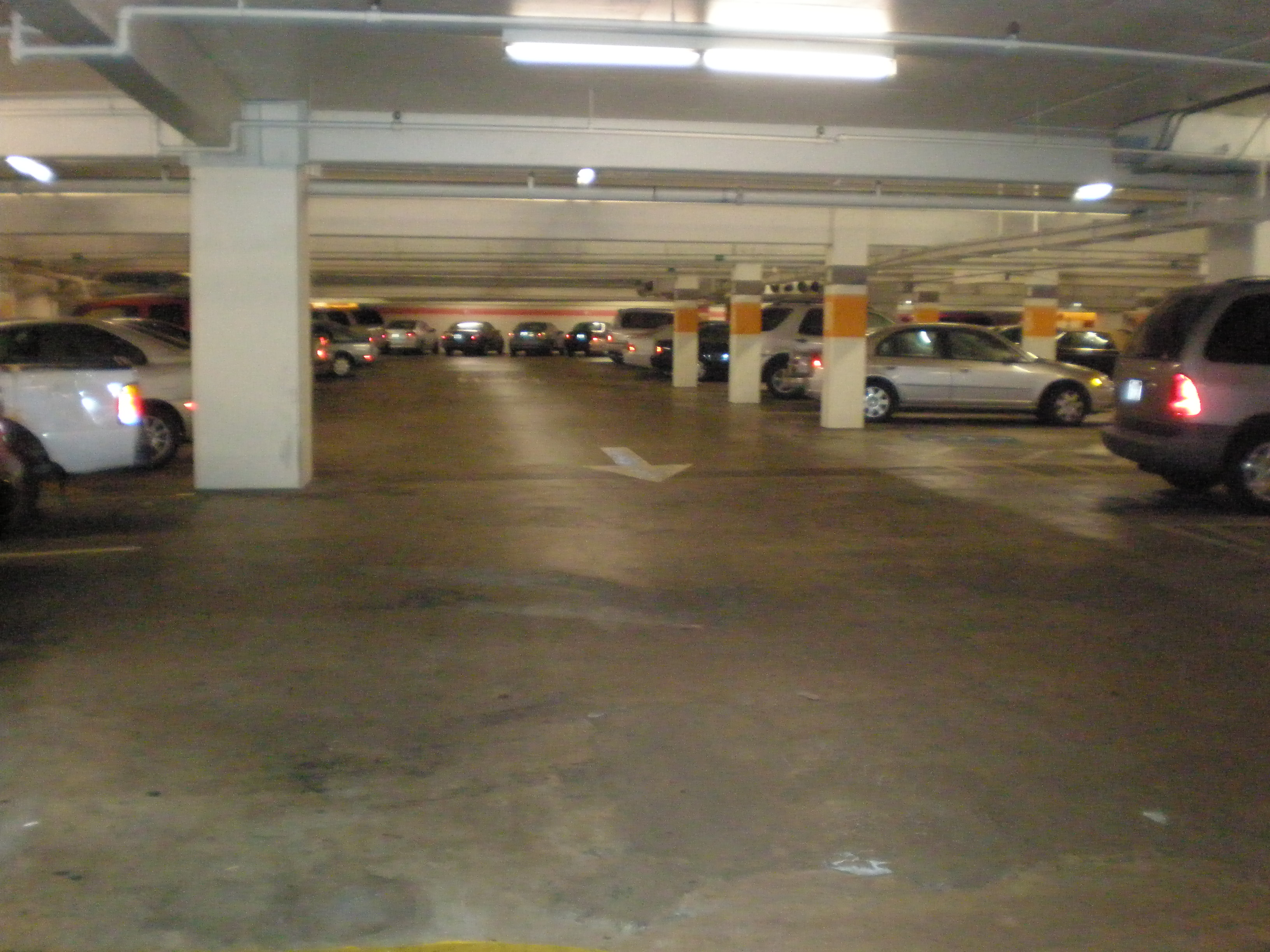Underground  Car Lot