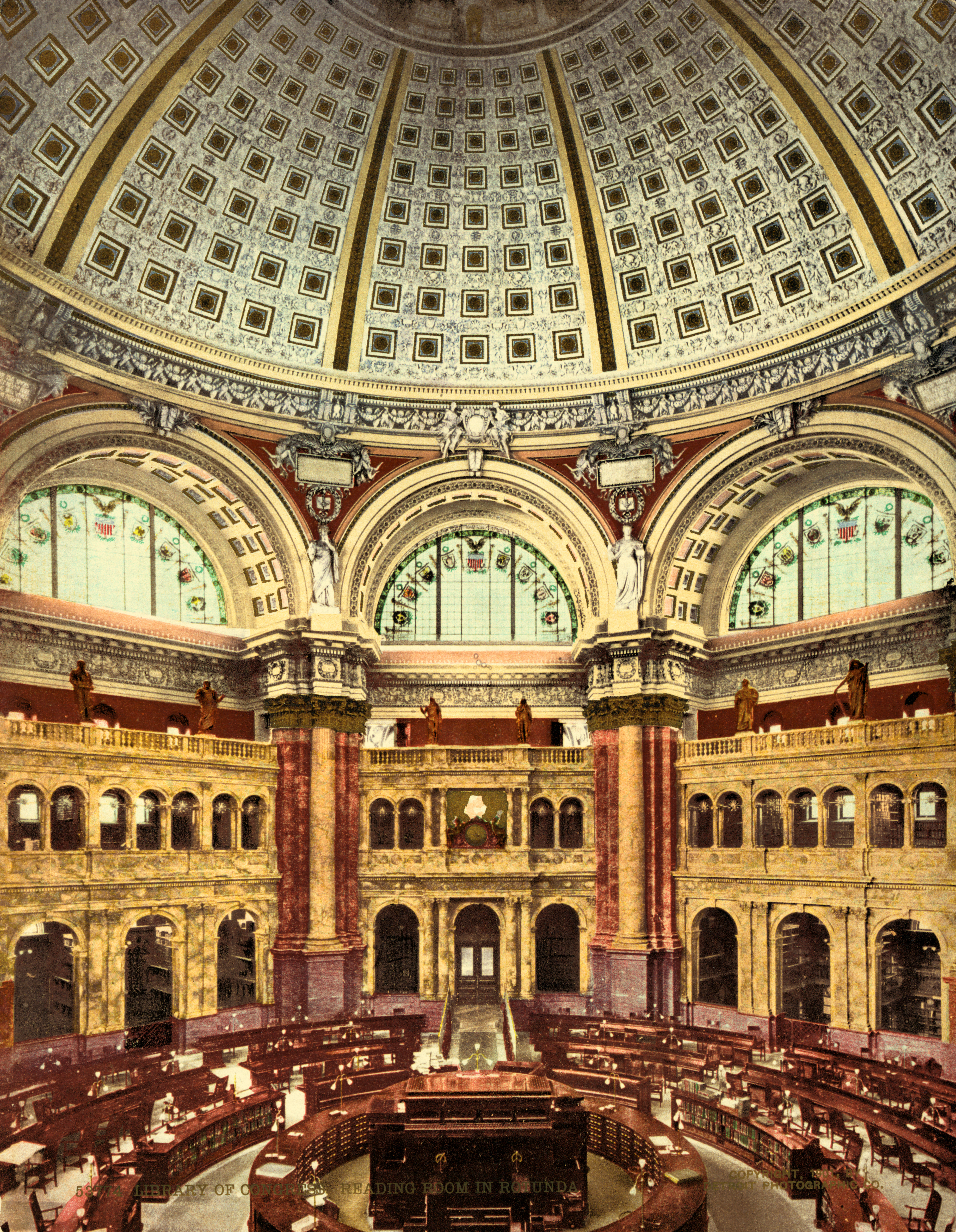 Library Of Congress Reading Room Wikipedia
