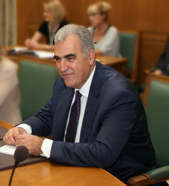 Dimitris Reppas, Minister for Infrastructure, ...