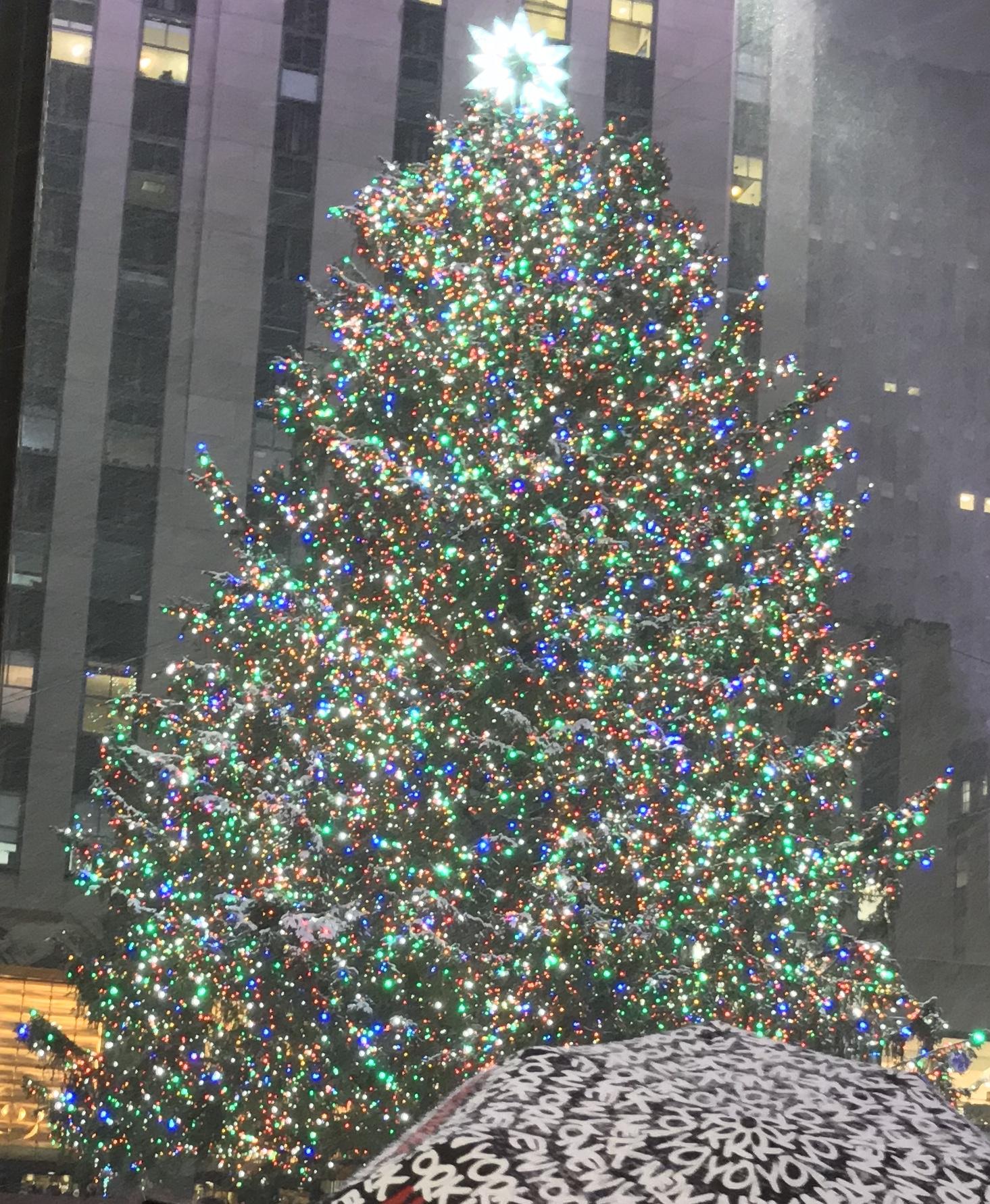 rockefeller center christmas tree lighting wikipedia