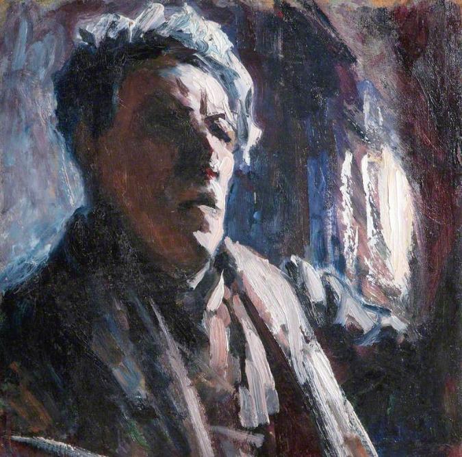 Autorretrato (c. 1923-1926)