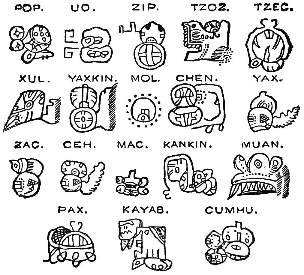 Sistemas De Escrita Mesoamericanos Wikipedia A Enciclopedia Livre