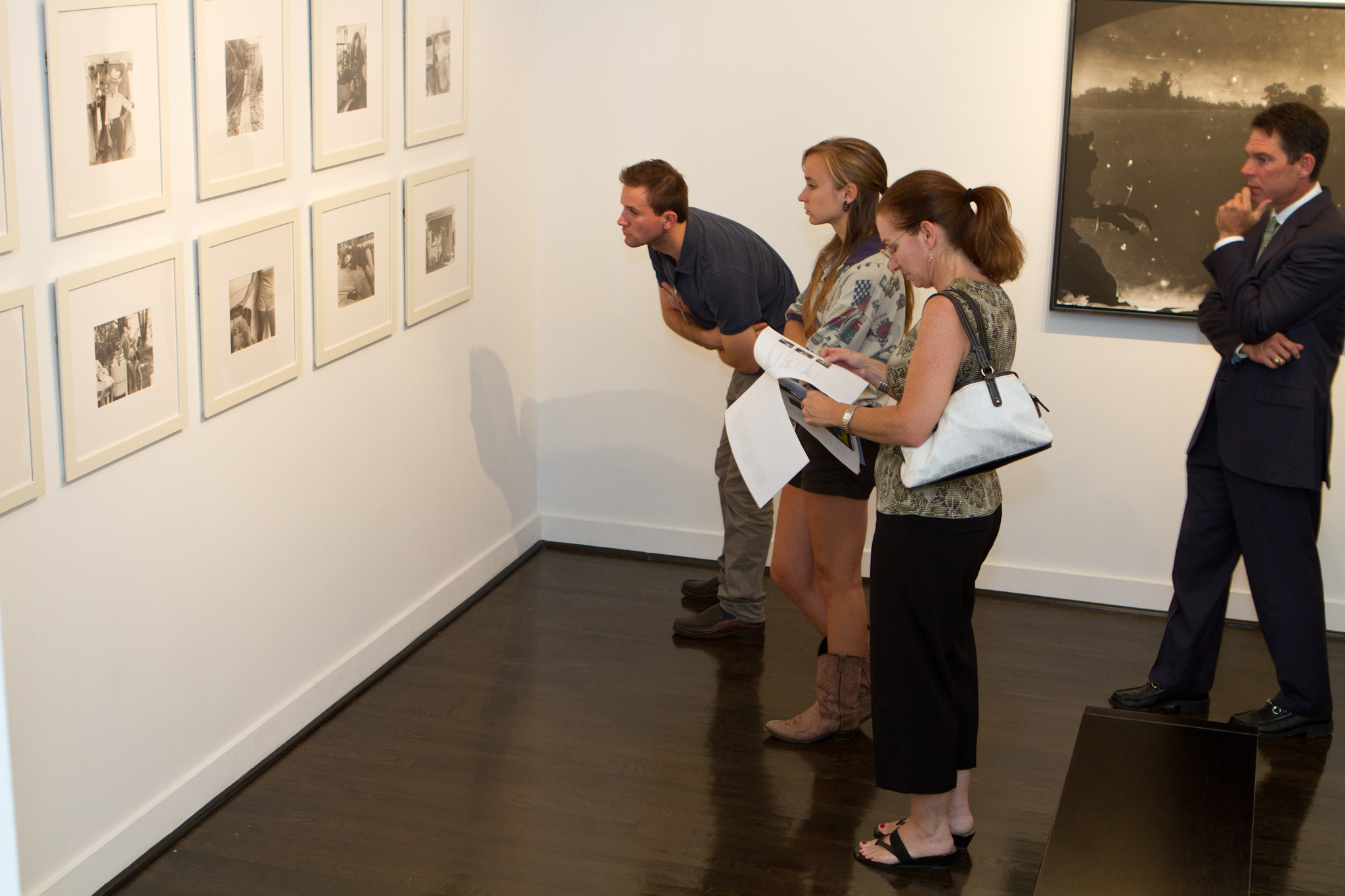 Sally Mann Exhibit at Jackson Fine Art 9/9/11