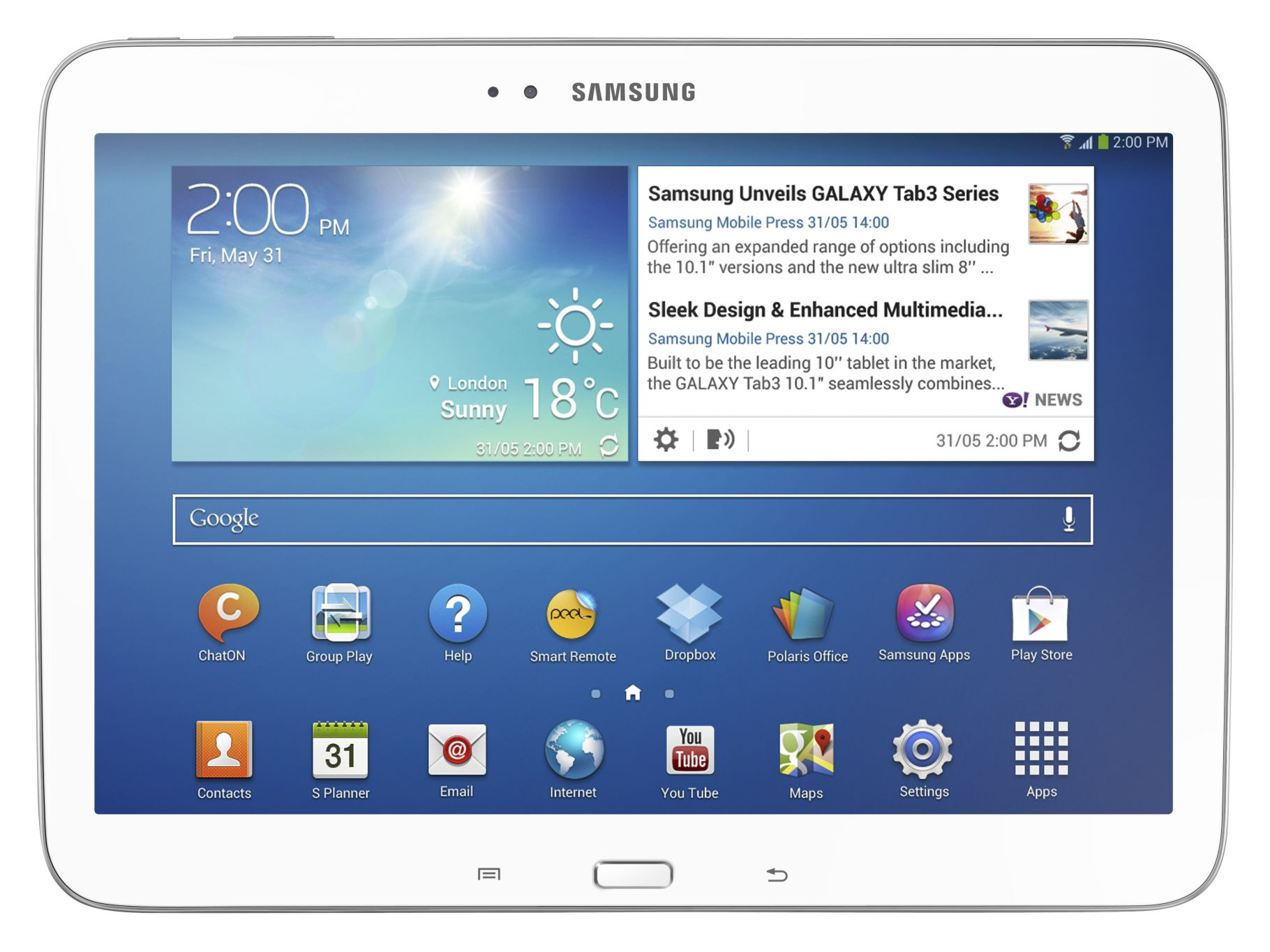 How do I connect my Samsung Galaxy Tablet to my Computer?