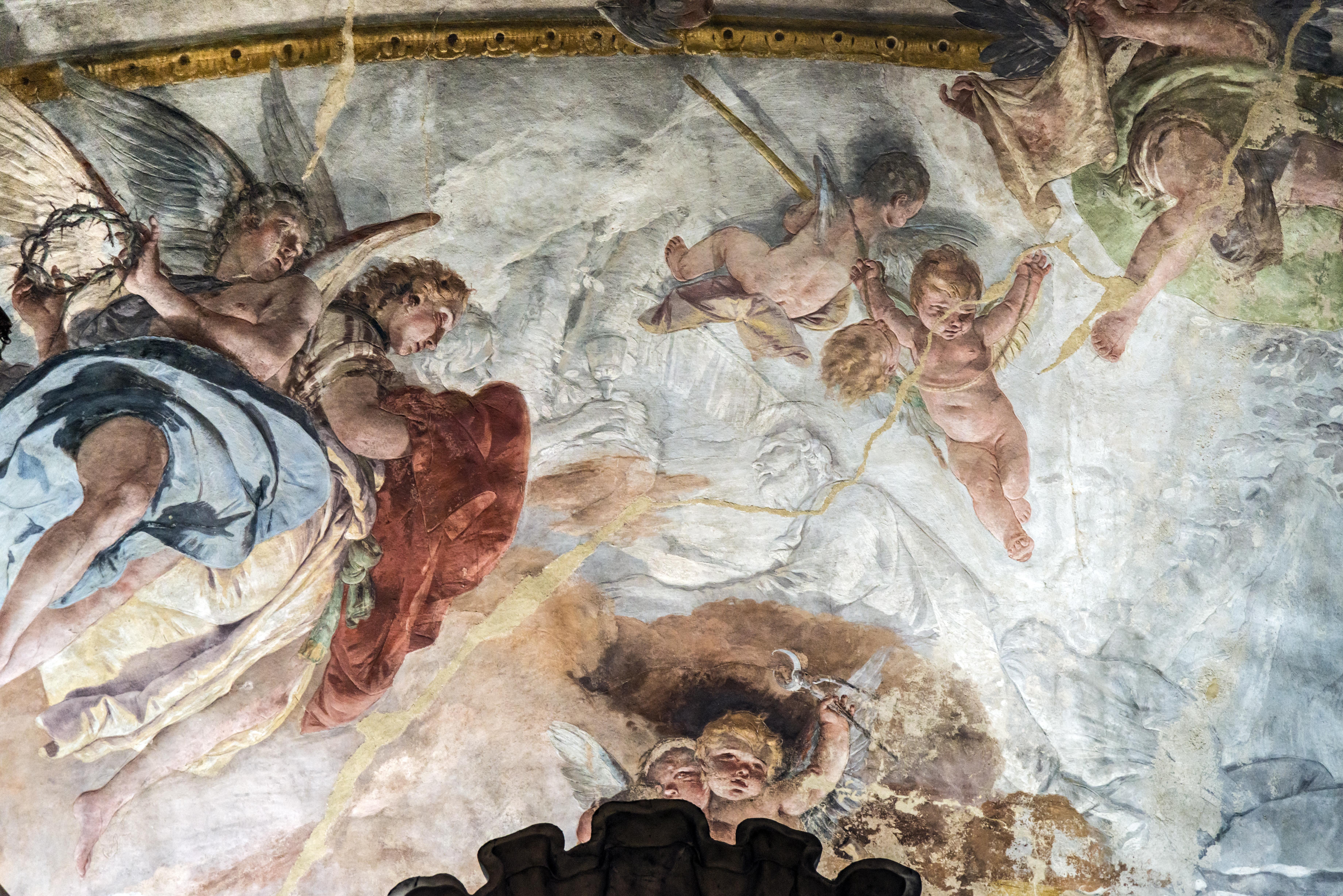 Cristo nel Getsemani di Giambattista Tiepolo