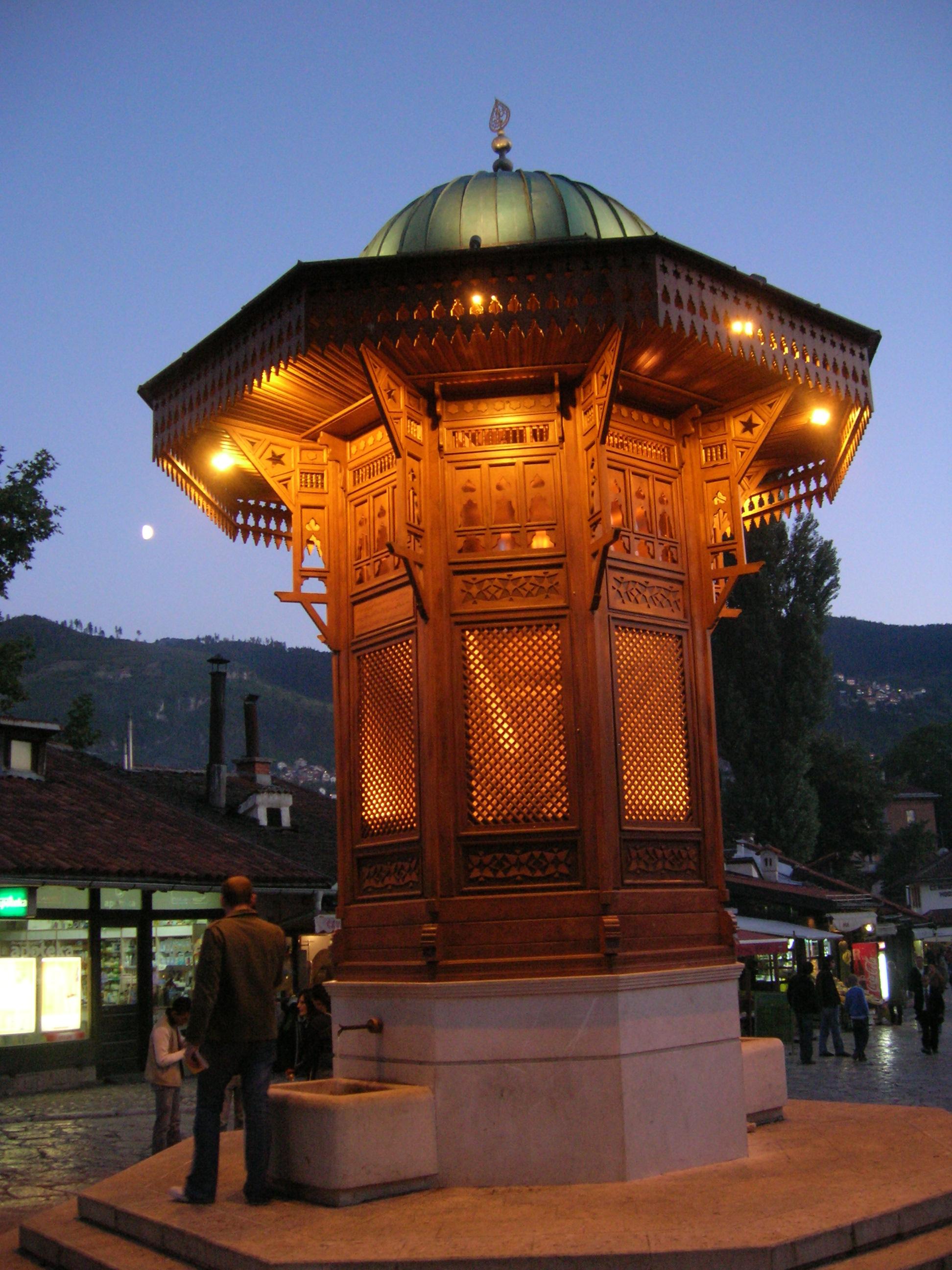 File:Sebilj, fountain in Sarajevo.jpg - Wikimedia Commons