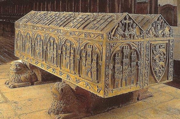 Sepulcro De Alfonso Viii C Rey De Castilla Monasterio De Las Huelgas De Burgos A