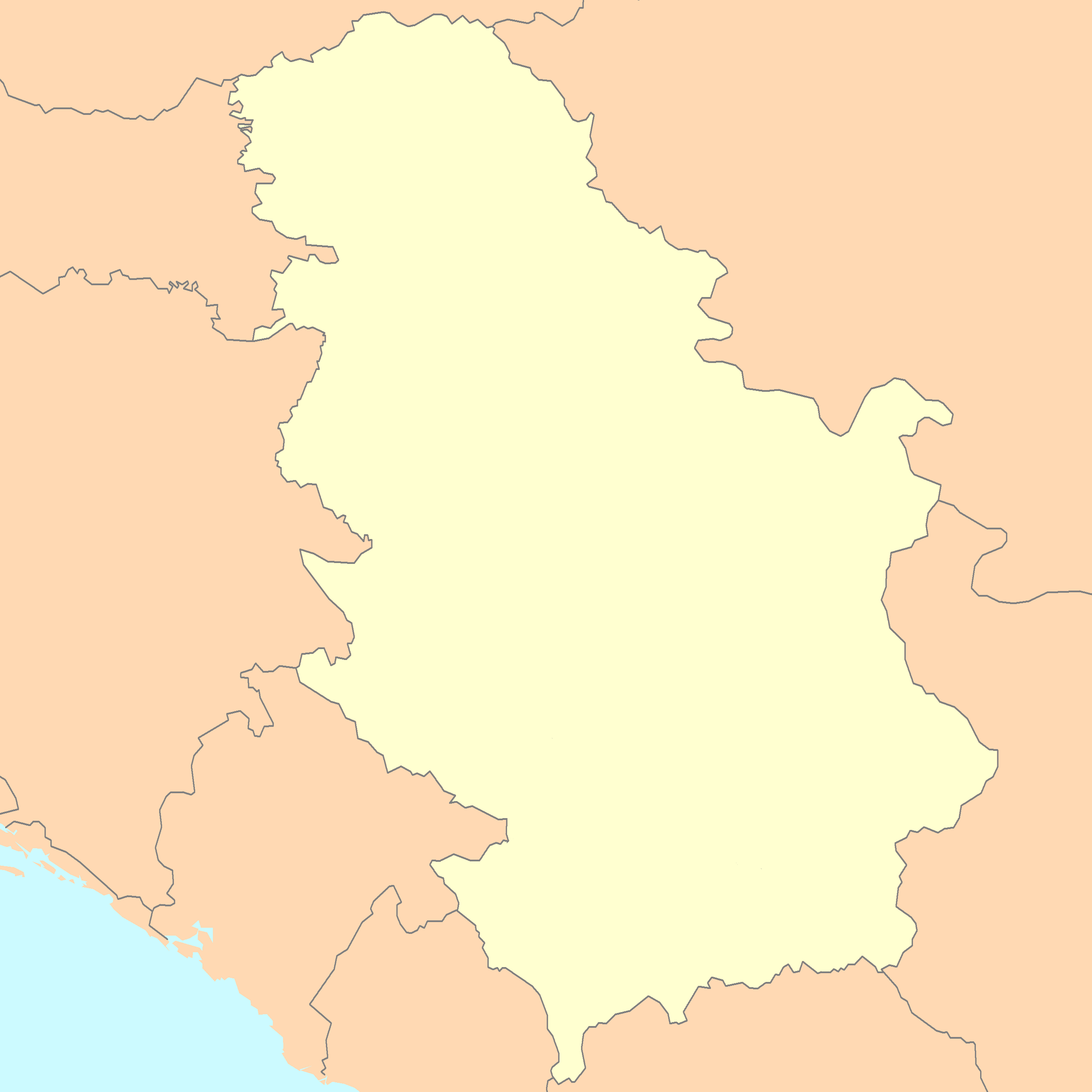 File:Serbia map blank.png - Wikimedia Commons