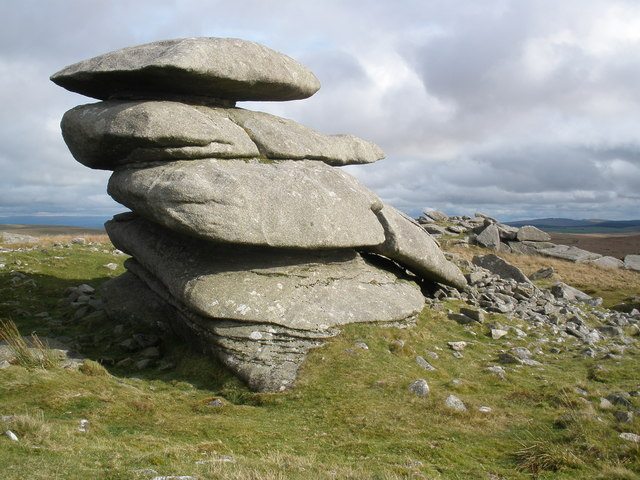 Showery Tor - geograph.org.uk - 1006094