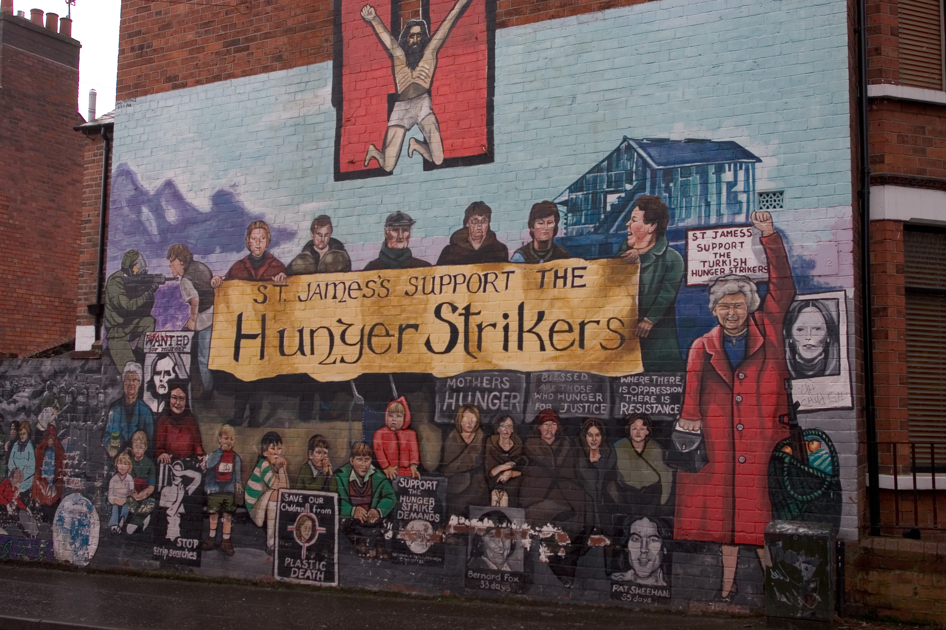 File St James S Support The Hunger Strikers Jpg