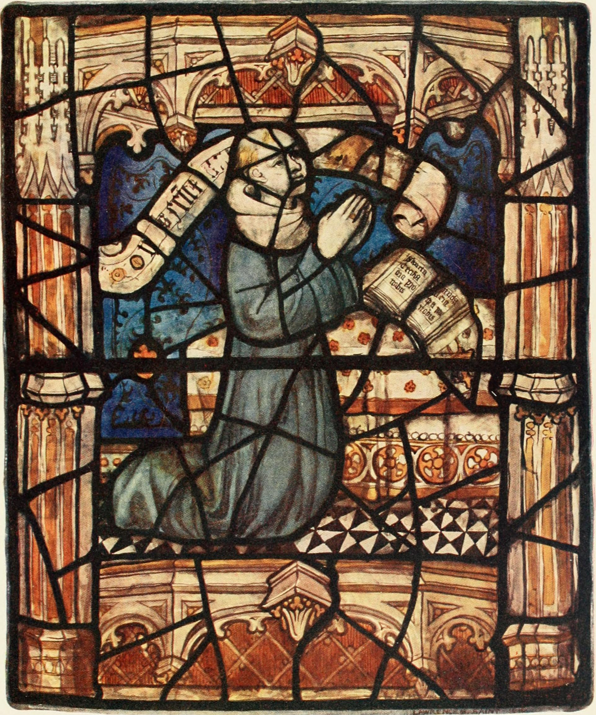 filestained glass of the middle ages in england and
