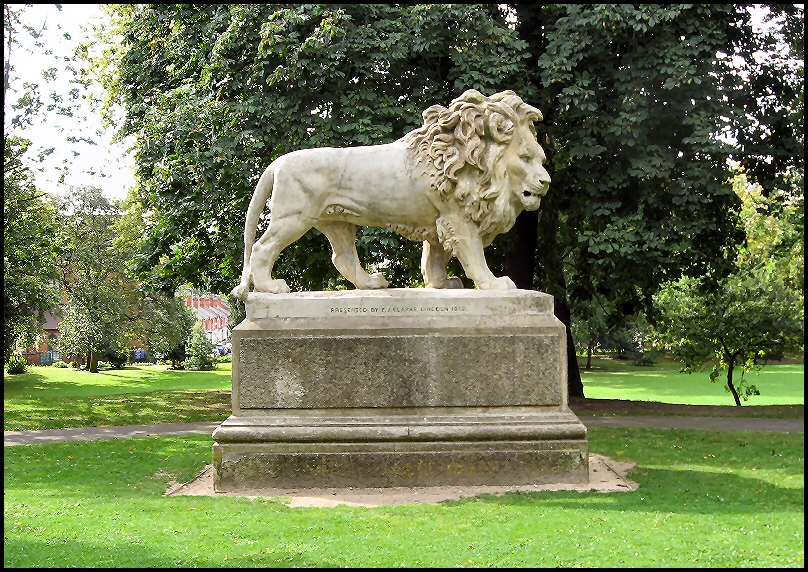 Stone Lion, The Arboretum, Lincoln