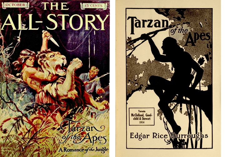 Tarzan all-story Oct 1912