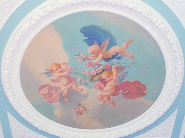 File The Angel Room Ceiling Detail Geograph Org Uk