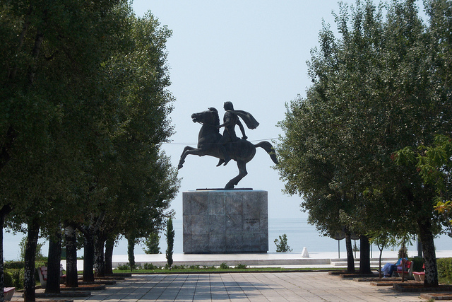 Αρχείο:Thessaloniki Alexander the Great statue.png