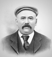 Photograph of Thomas Spencer wearing flat cap