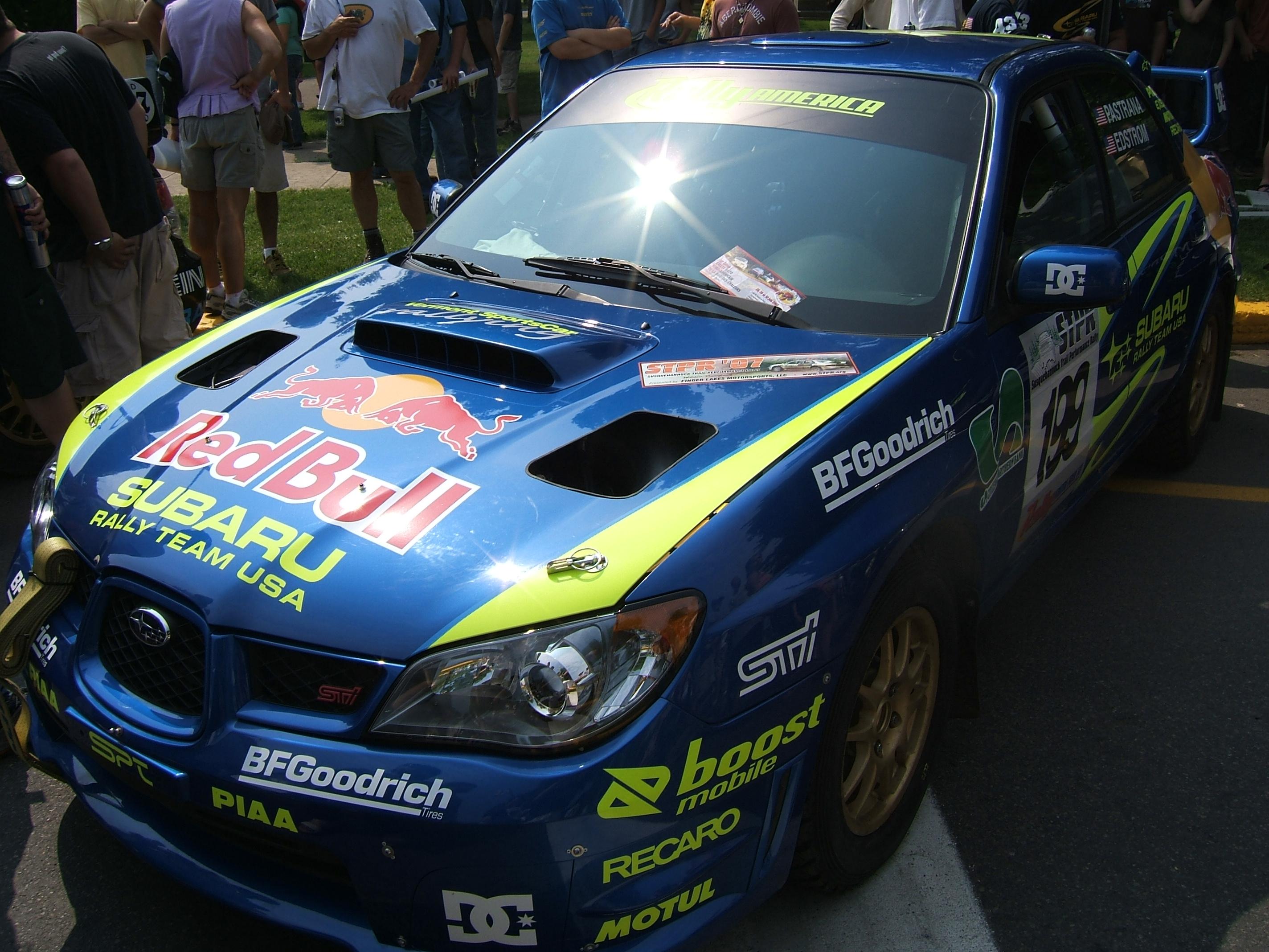 File:Travis Pastrana Subaru Impreza WRX STI Susquehannock Rally ...