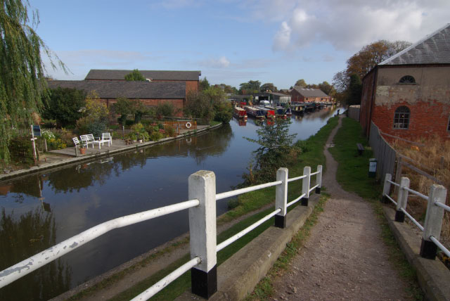Trent and Mersey Canal, Shardlow - geograph.org.uk - 1541725