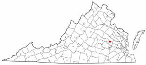 East Highland Park, Virginia Census-designated place in Virginia