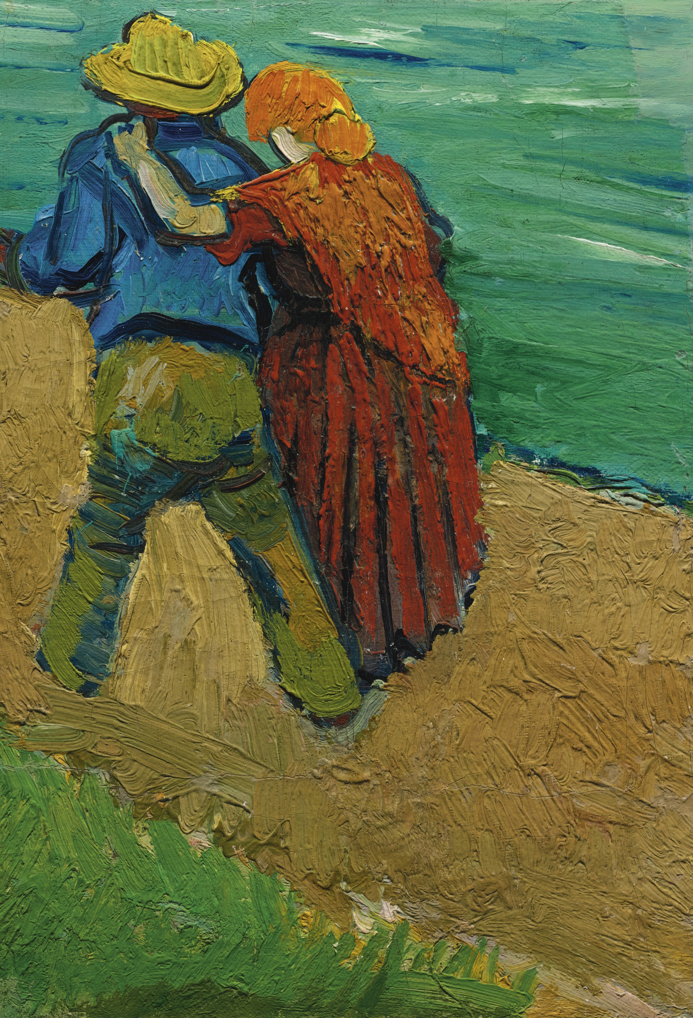 Van Gogh 1888-03, Arles - Two Lovers (Fragment) F 544 JH 1369