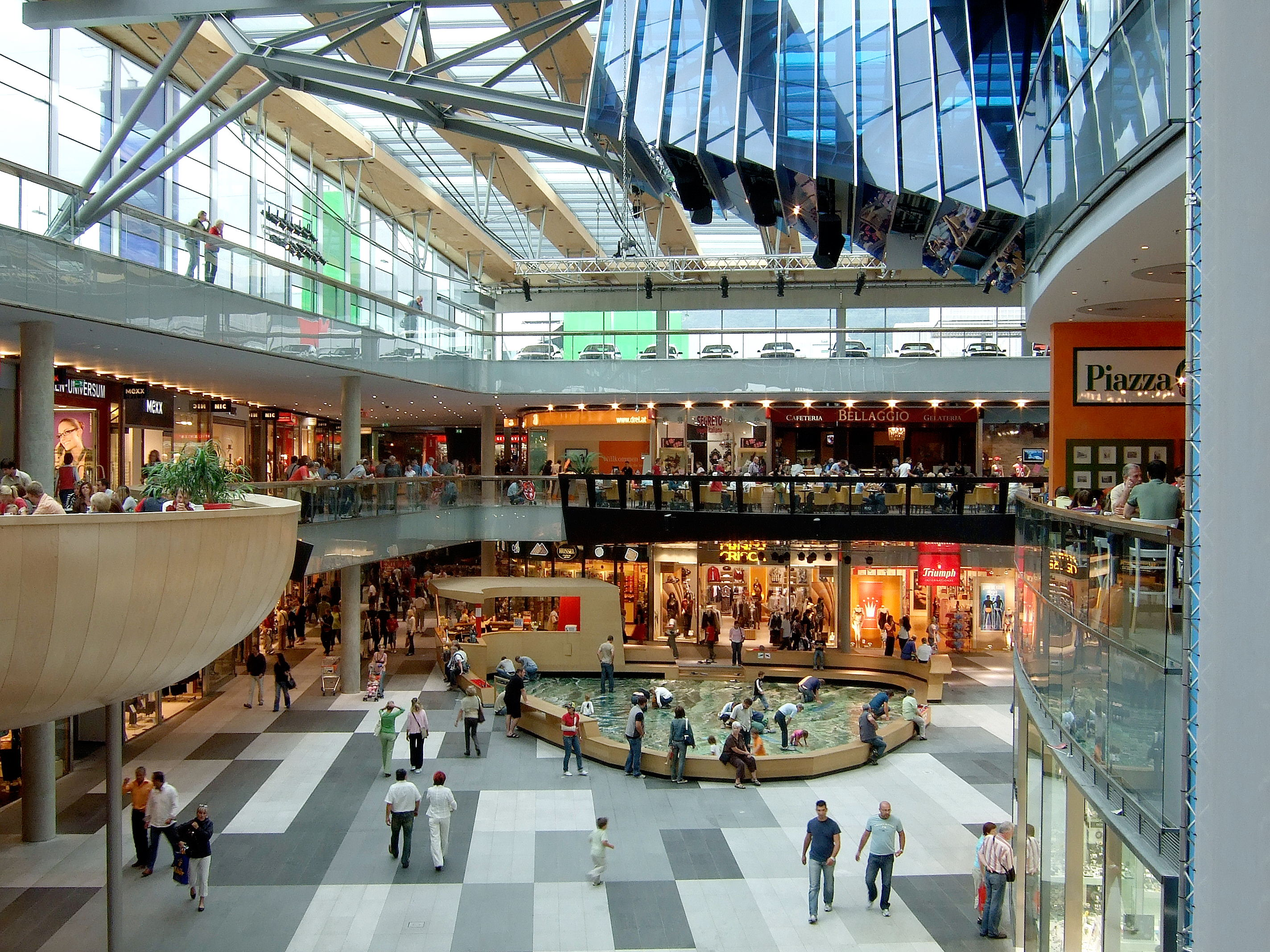 stores in the mall classification essay