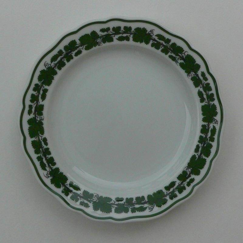 Voller grüner Weinkranz Teller 18cm.jpg