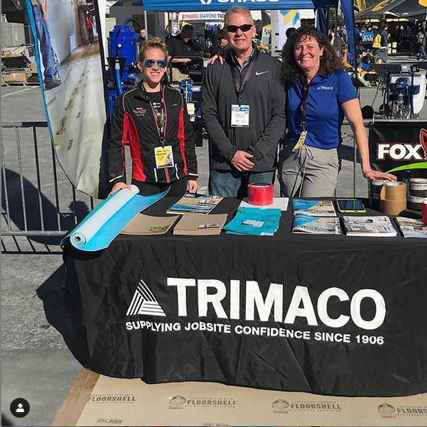 publish it under the following license: English Trimaco's stand at World of Concrete Wikimedia username: Trimacoinc URL: https://commons.wikimedia.org/wiki/user:Trimacoinc