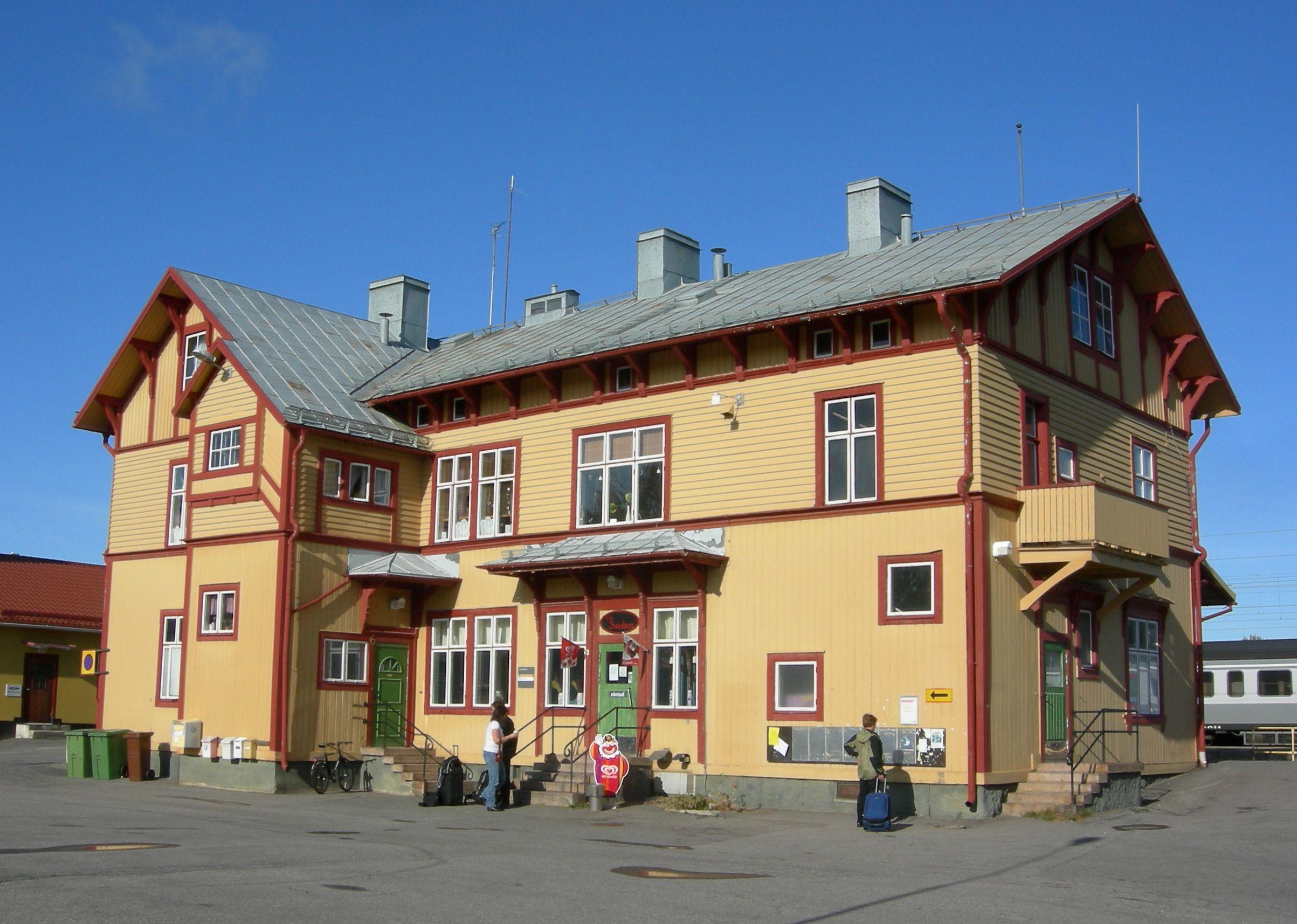 File Alvsbyn Station 20090911 Jpg Wikimedia Commons