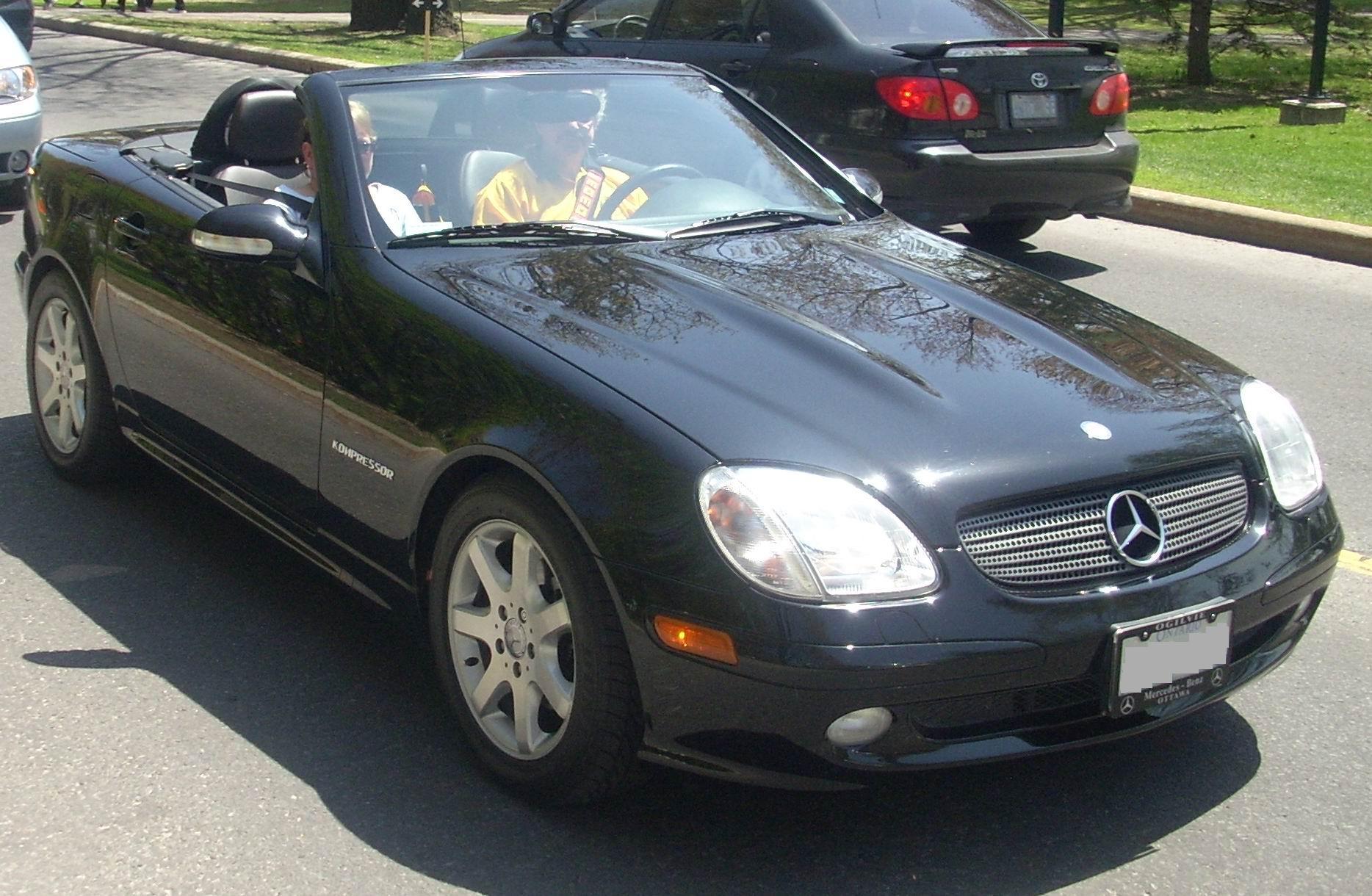 Mercedes benz slk 230 kompressor for 2003 mercedes benz slk 230 kompressor