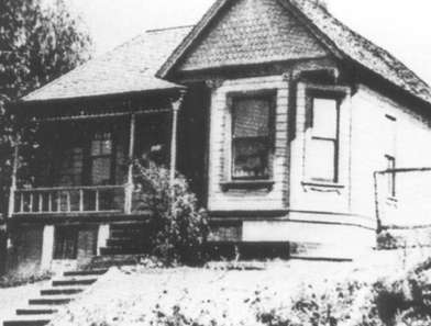 The Asberry home on 216 North Bonnie Brae Street. - Azusa Street Revival
