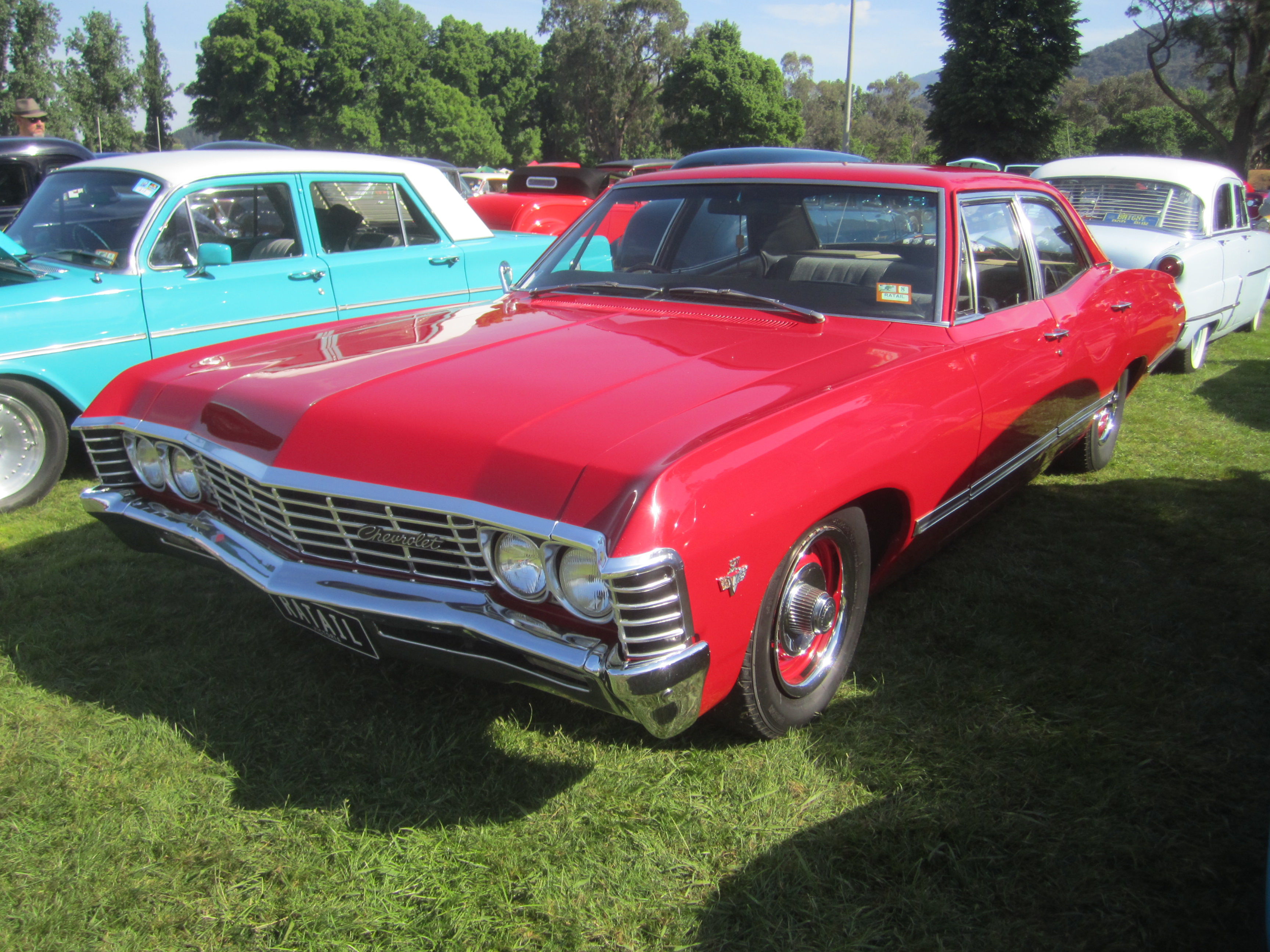 file 1967 chevrolet impala sedan flickr. Cars Review. Best American Auto & Cars Review