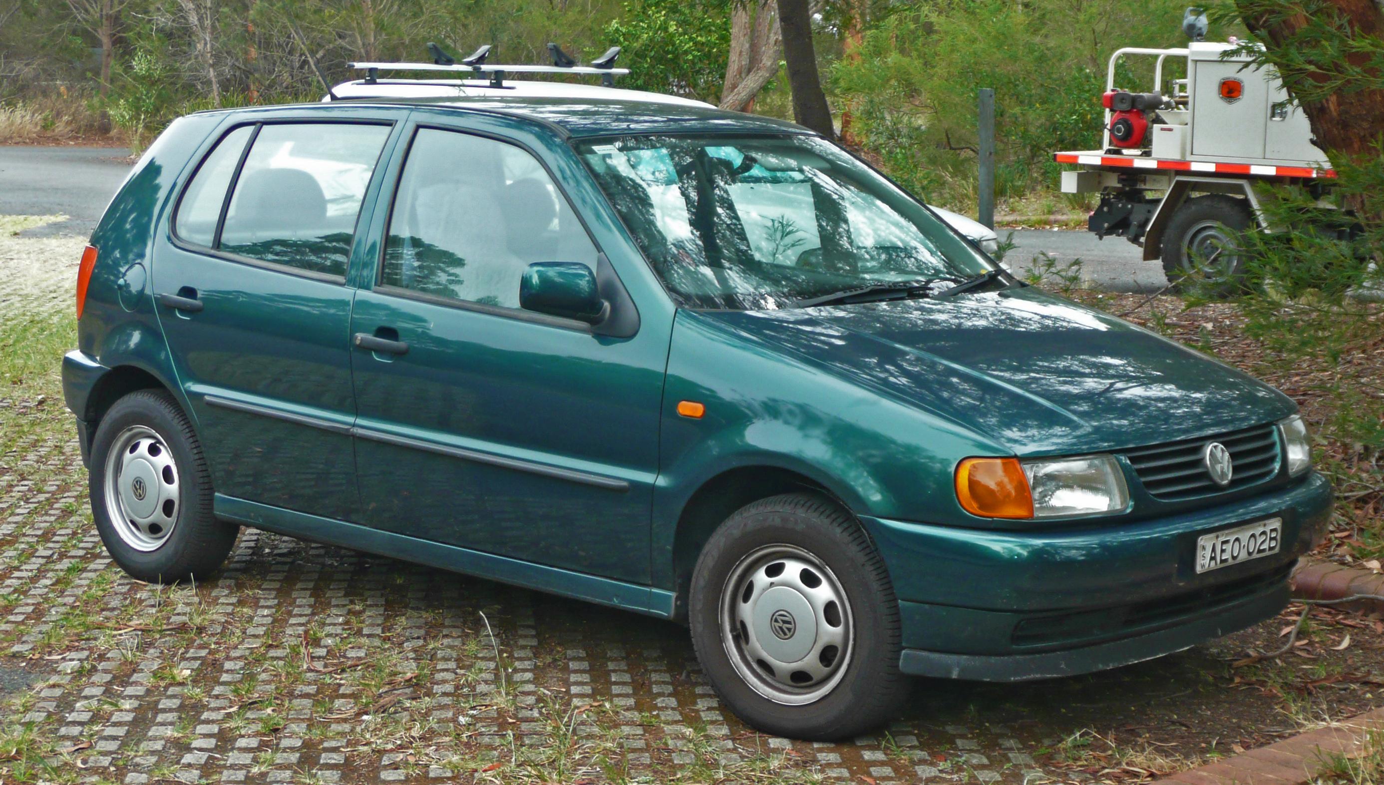 Description 1997 Volkswagen Polo (6N) 5-door hatchback (2010-01-23 ...