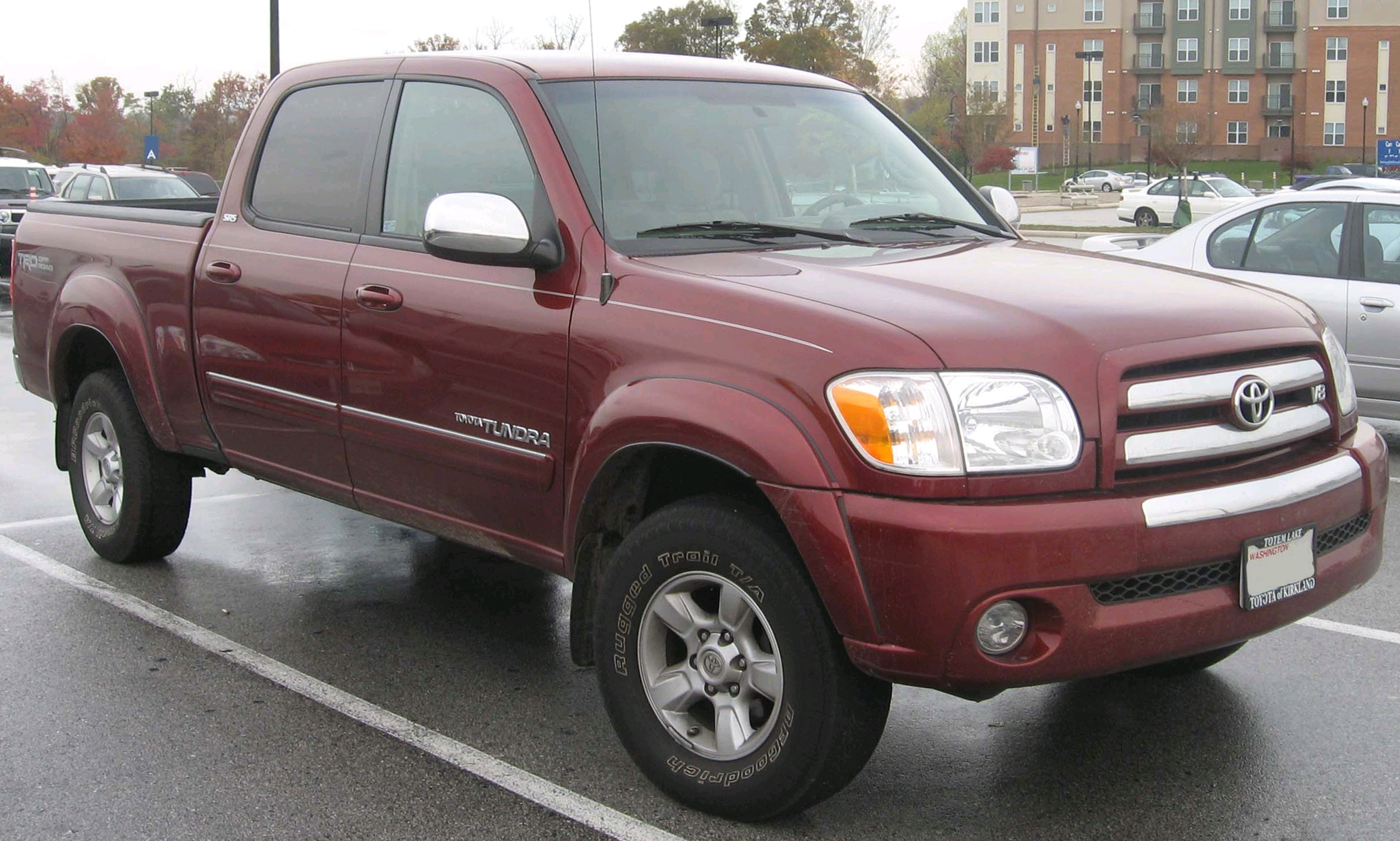 Toyota Tundra Regular Cab Long Bed