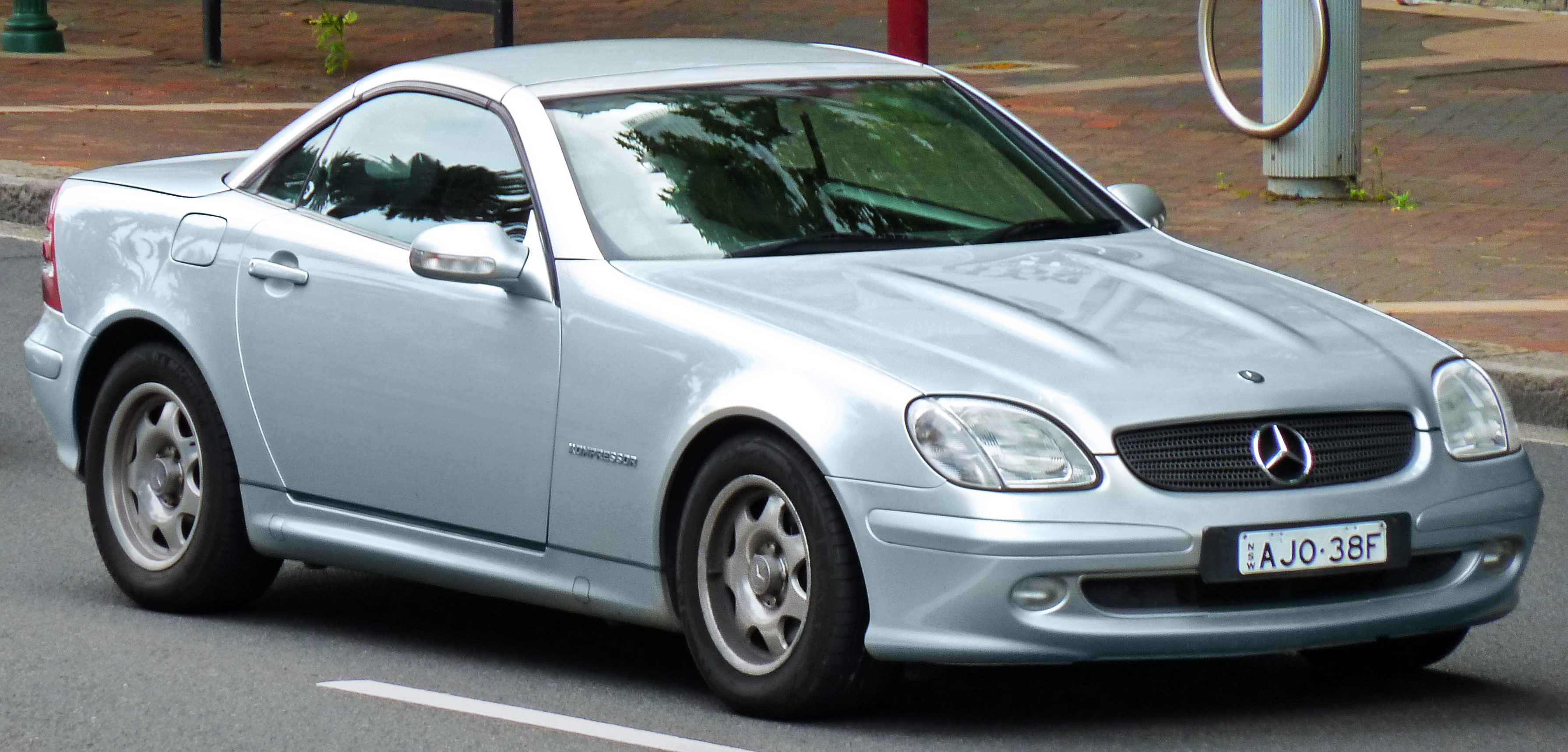 File 2000 Mercedes Benz Slk 200 Kompressor R 170