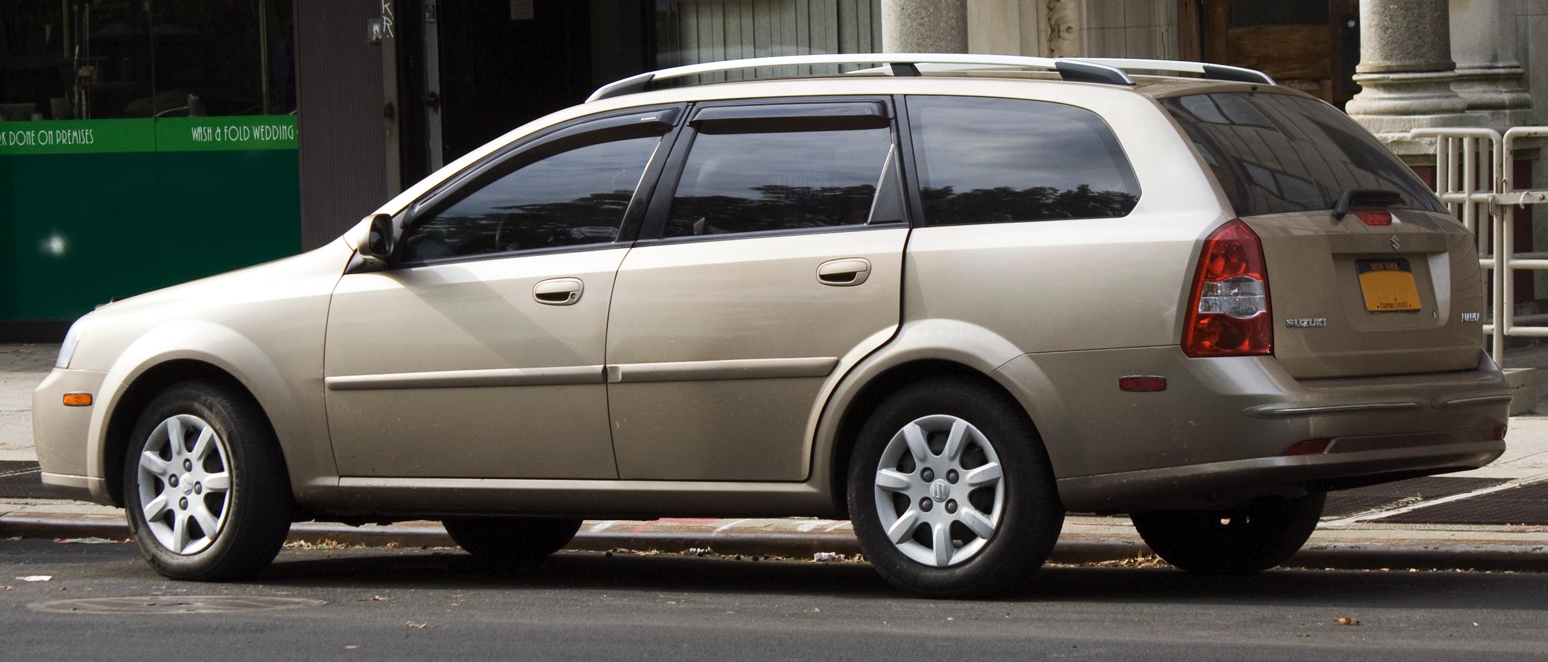 Suzuki Forenza Wagon Tail Light Houxing