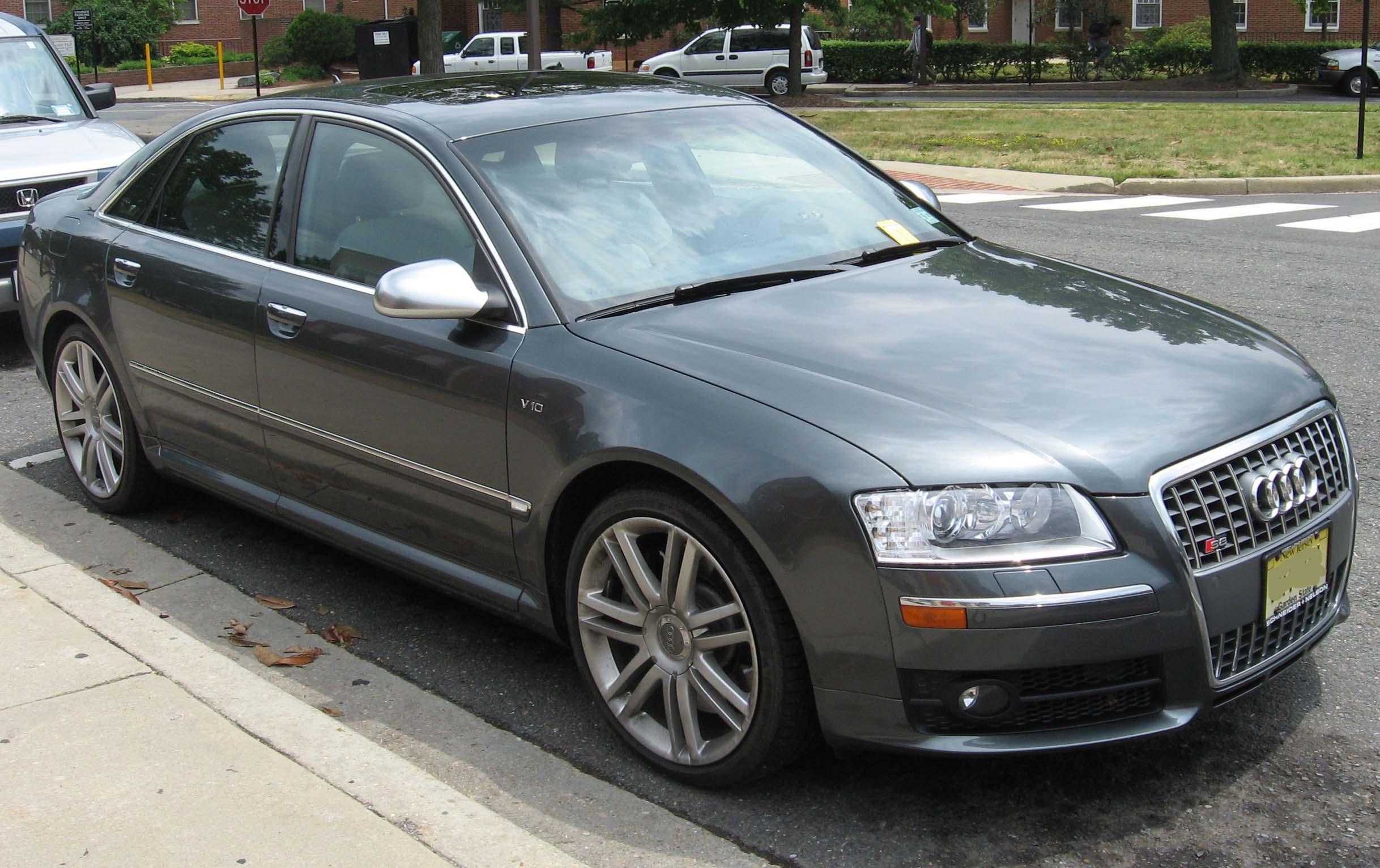 Fil:2007-Audi-S8.jpg - Wikipedia, den frie encyklopædi