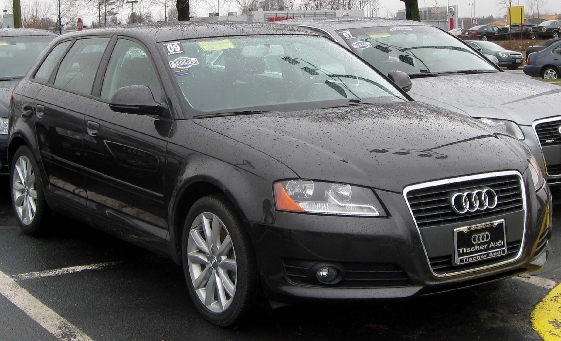 File:2009 Audi A3 -- 03-14-2010.jpg