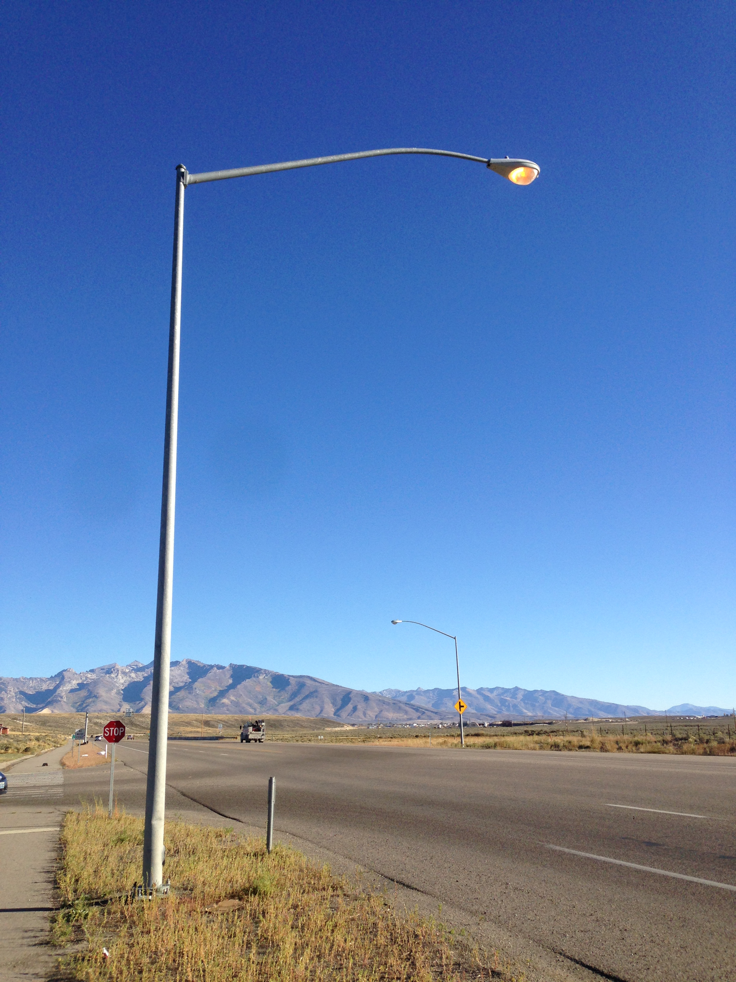 File:2014-10-05 16 14 16 Street light illuminated during the day along ... Lights