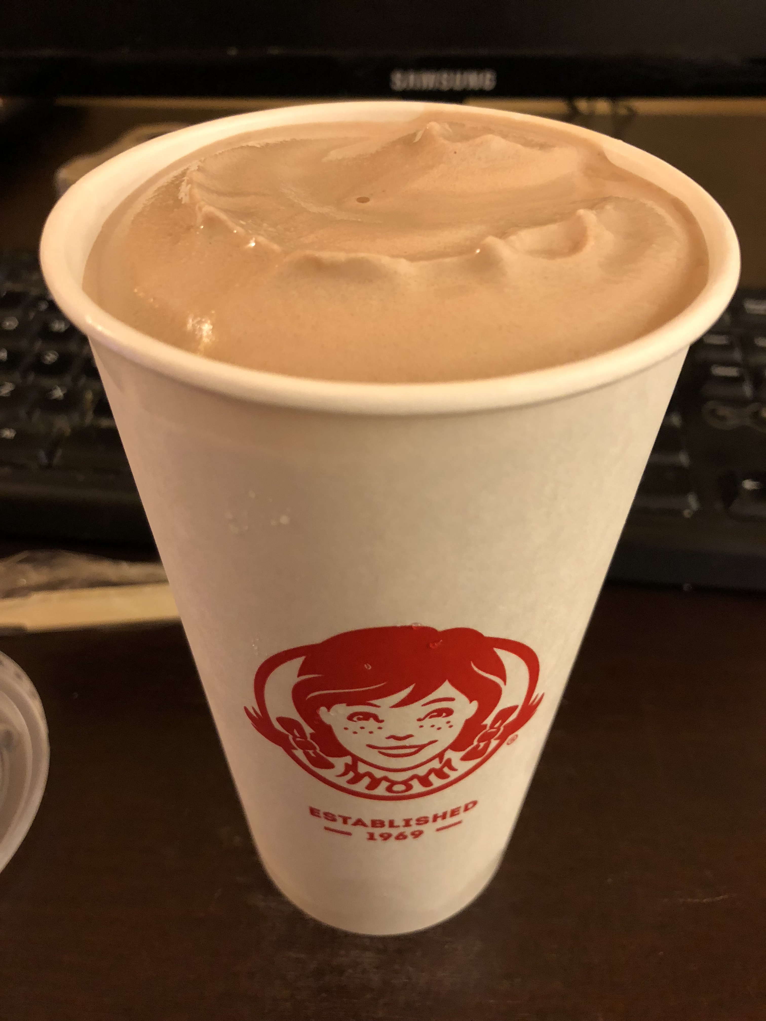 graphic about Wendy's Printable Application called Frosty (frozen dairy dessert) - Wikipedia