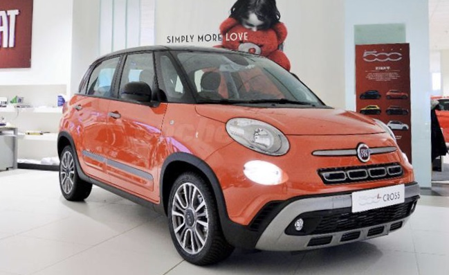 File 2018 Fiat 500l Cross 1 6 Multijet Jpg Wikimedia Commons