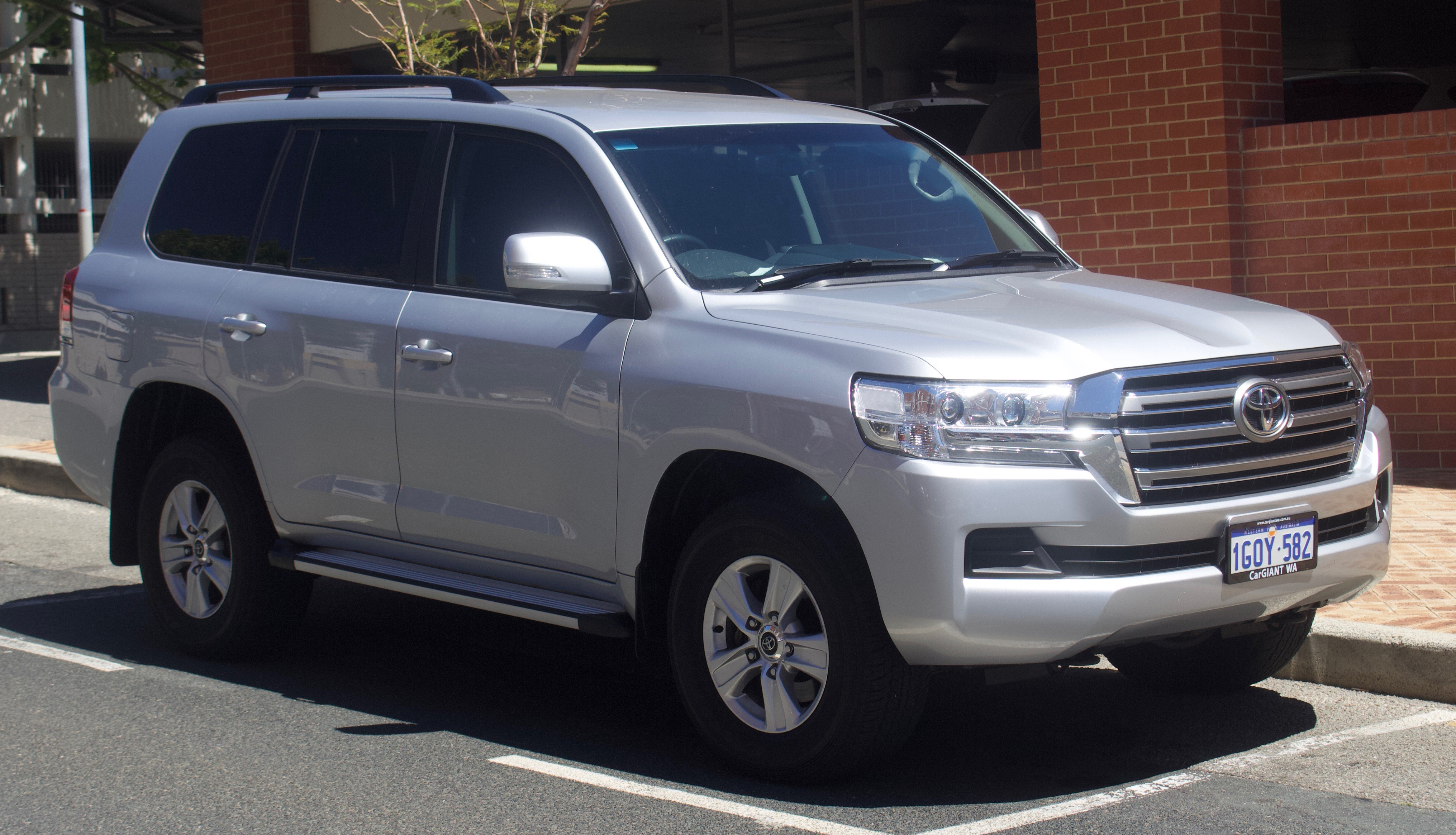Toyota Land Cruiser — Википедия