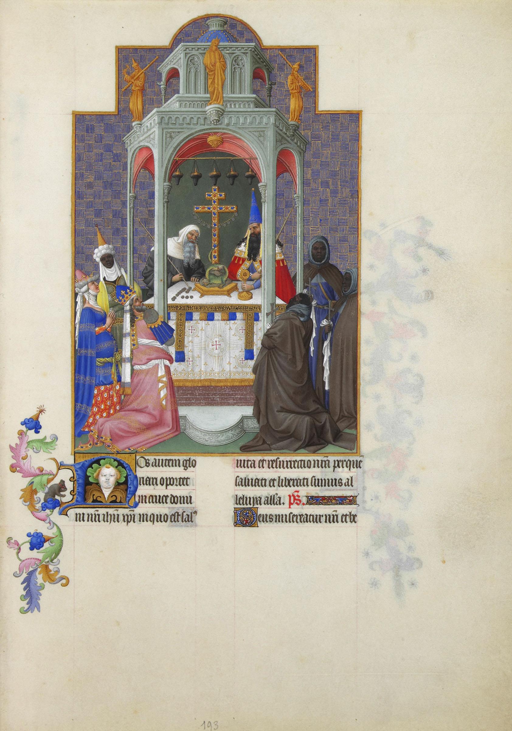 Historie Krzya świętego Na Portalu Kaplicy św Anny W Malborku