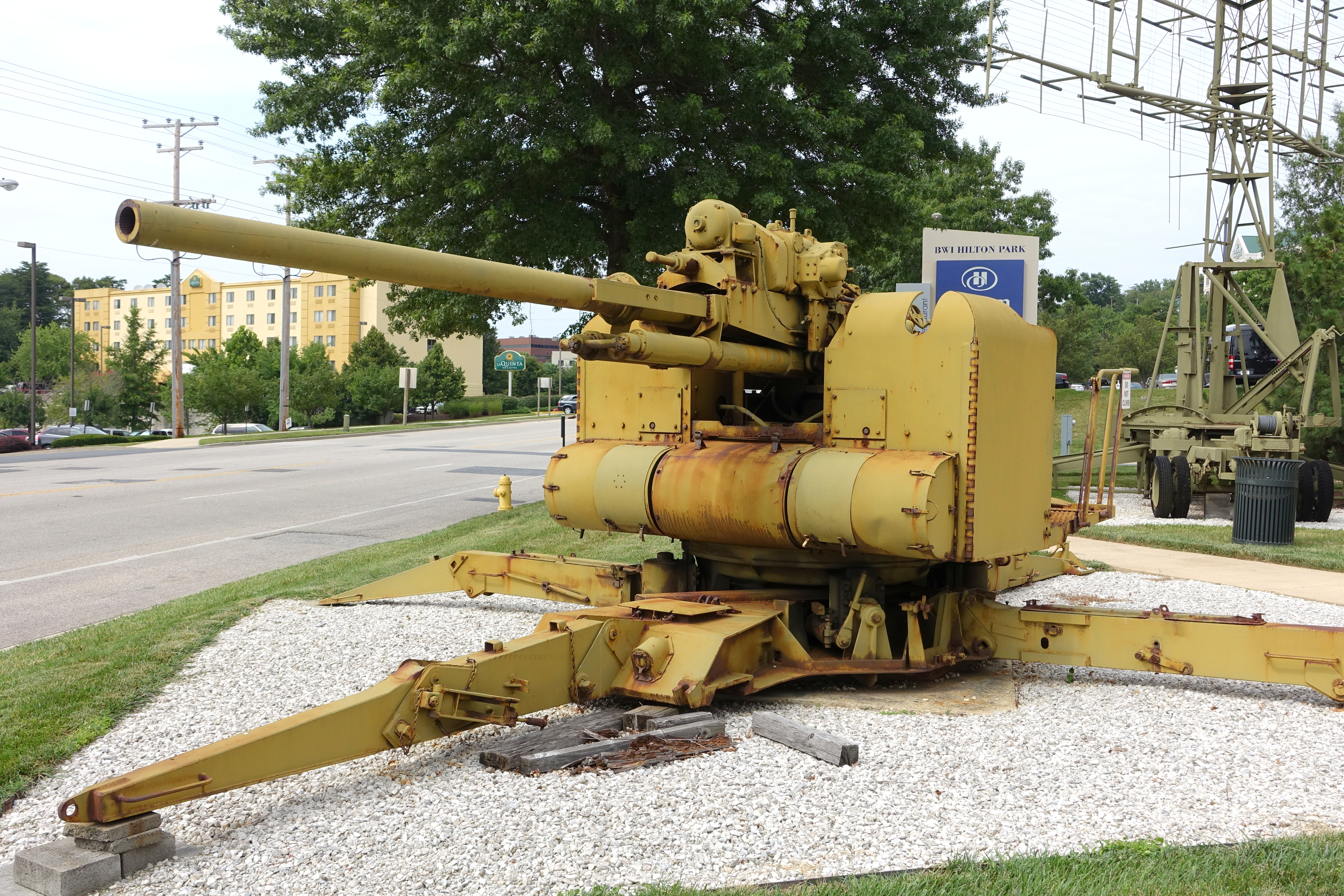 Filemm AntiAircraft Gun USA World War II View  National - Gun museums in usa