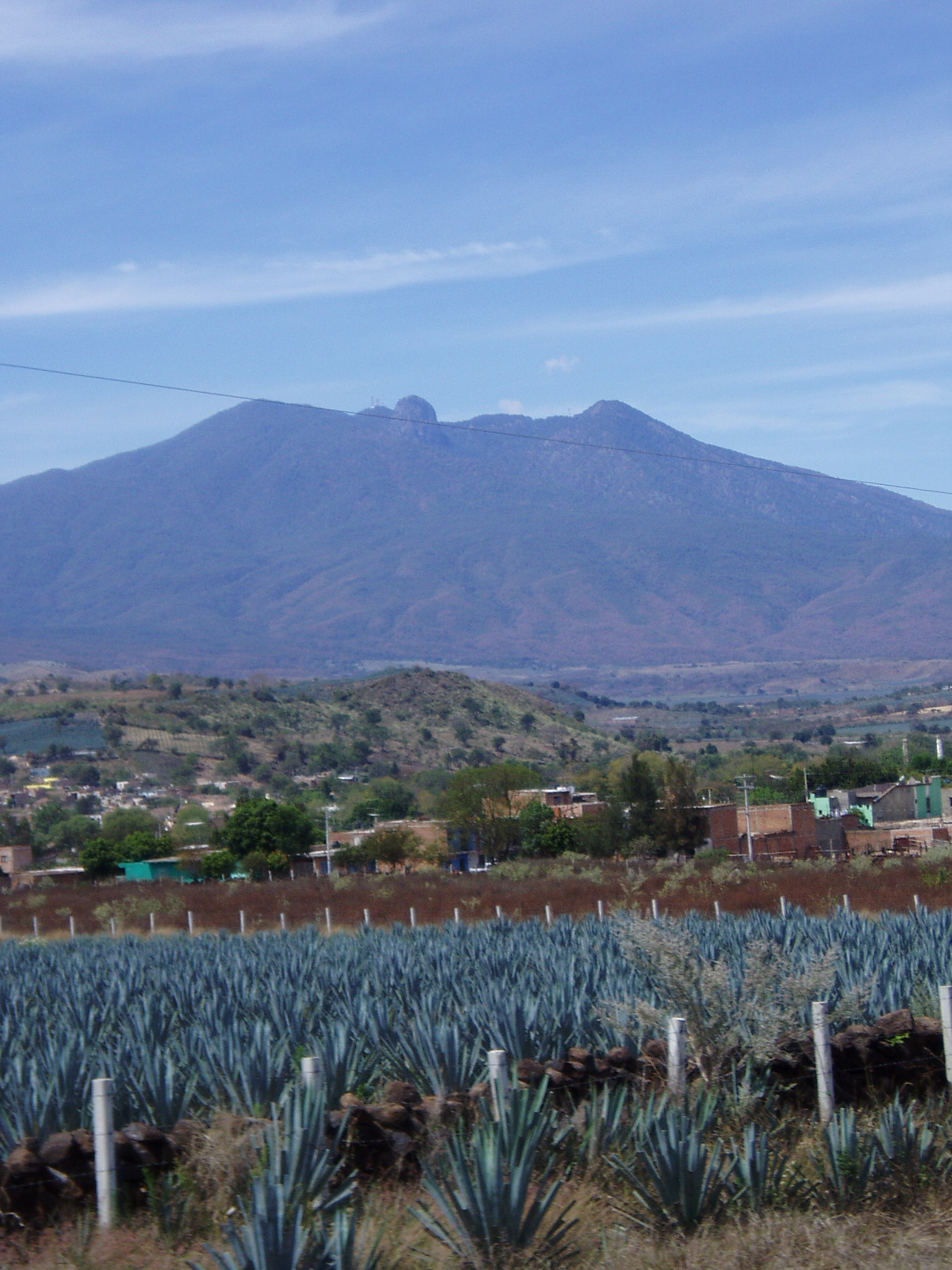 Agave fields mountain Tequila places to visit in Mexico