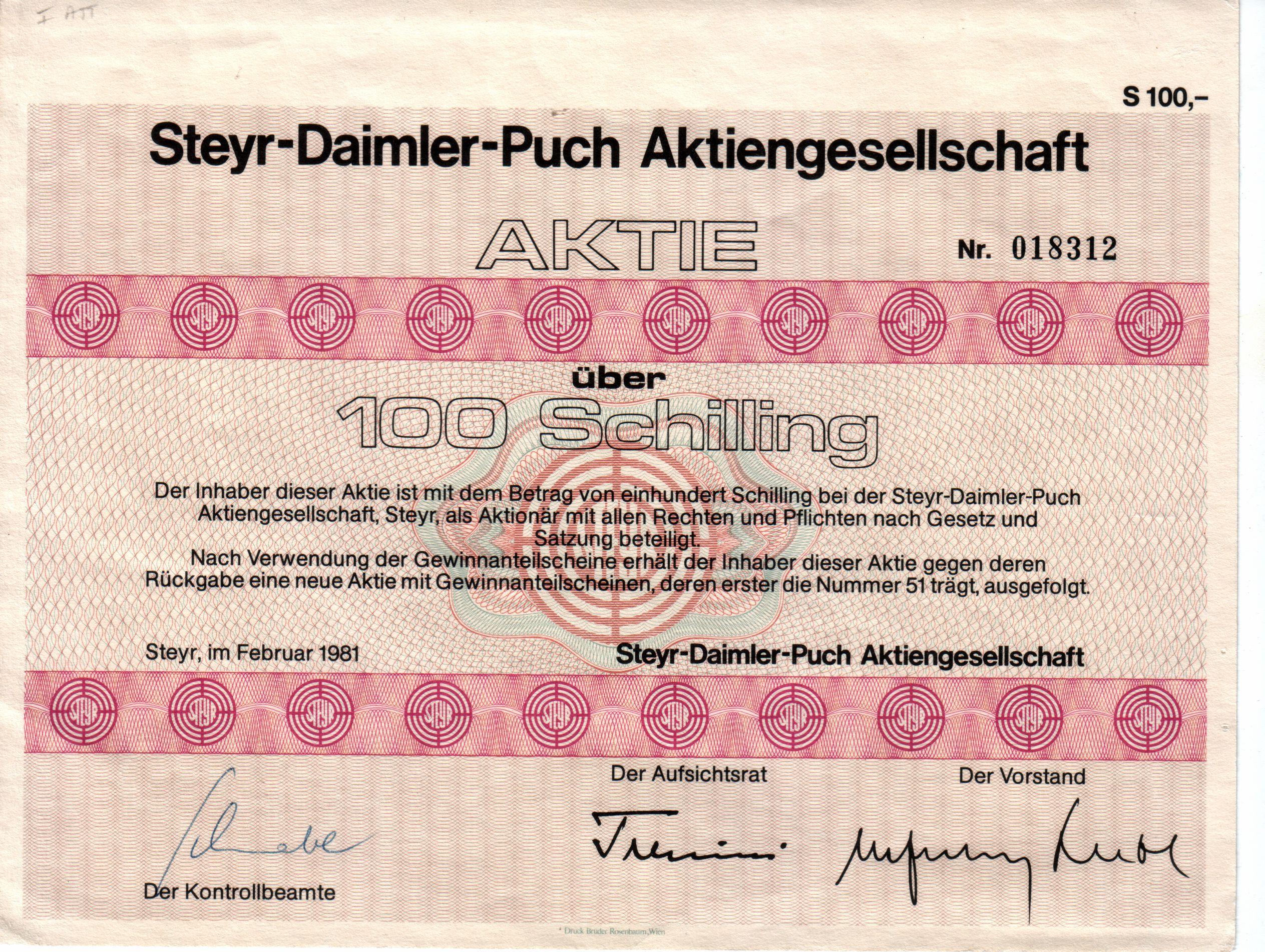 Daimler Puch ag File:aktie Steyr-daimler-puch