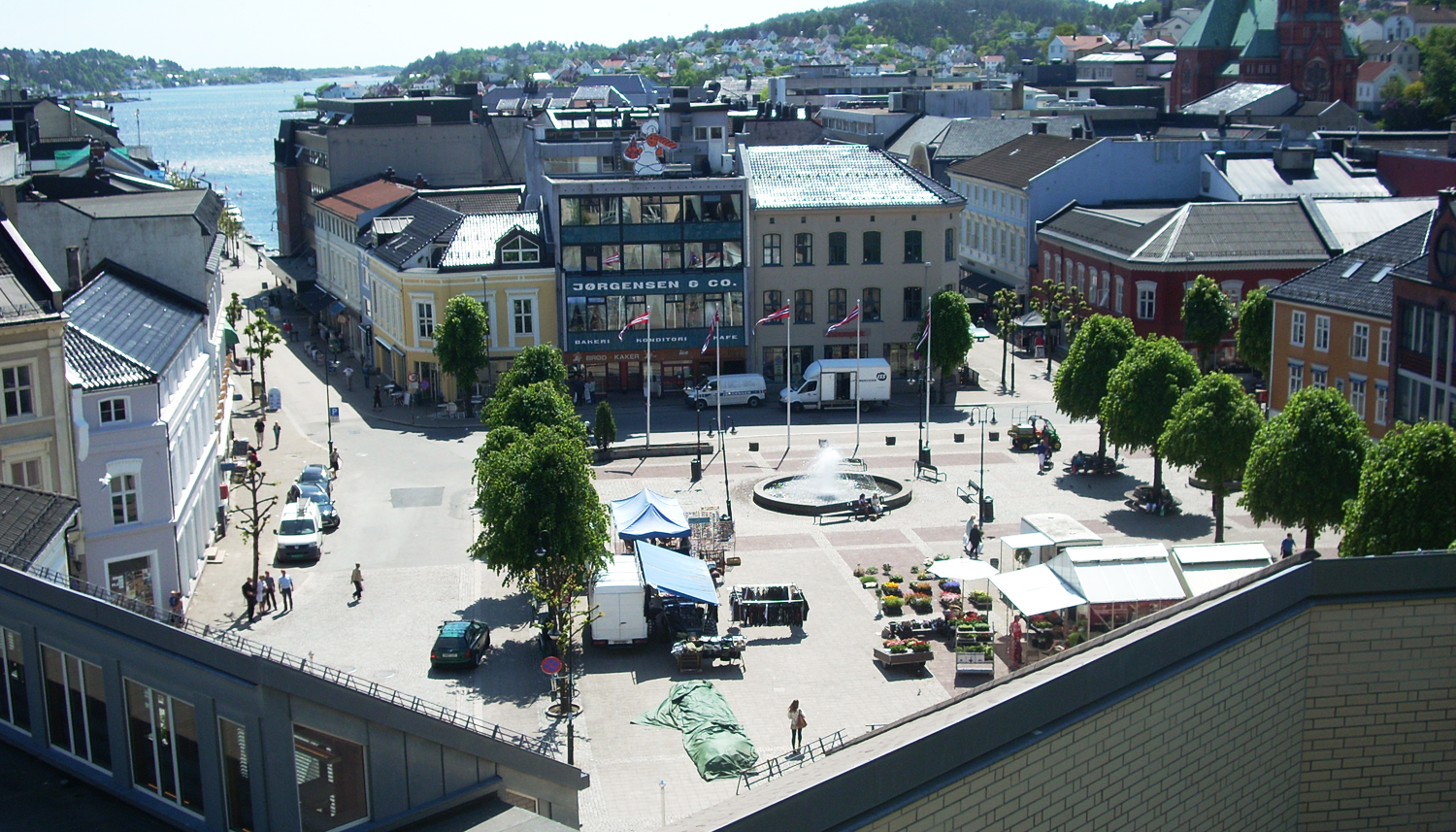 Arendal Norway  City pictures : Arendal Torv Wikimedia Commons